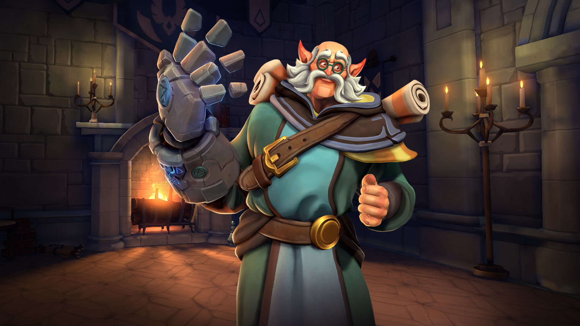 Torvald. The best champions to choose in Paladins
