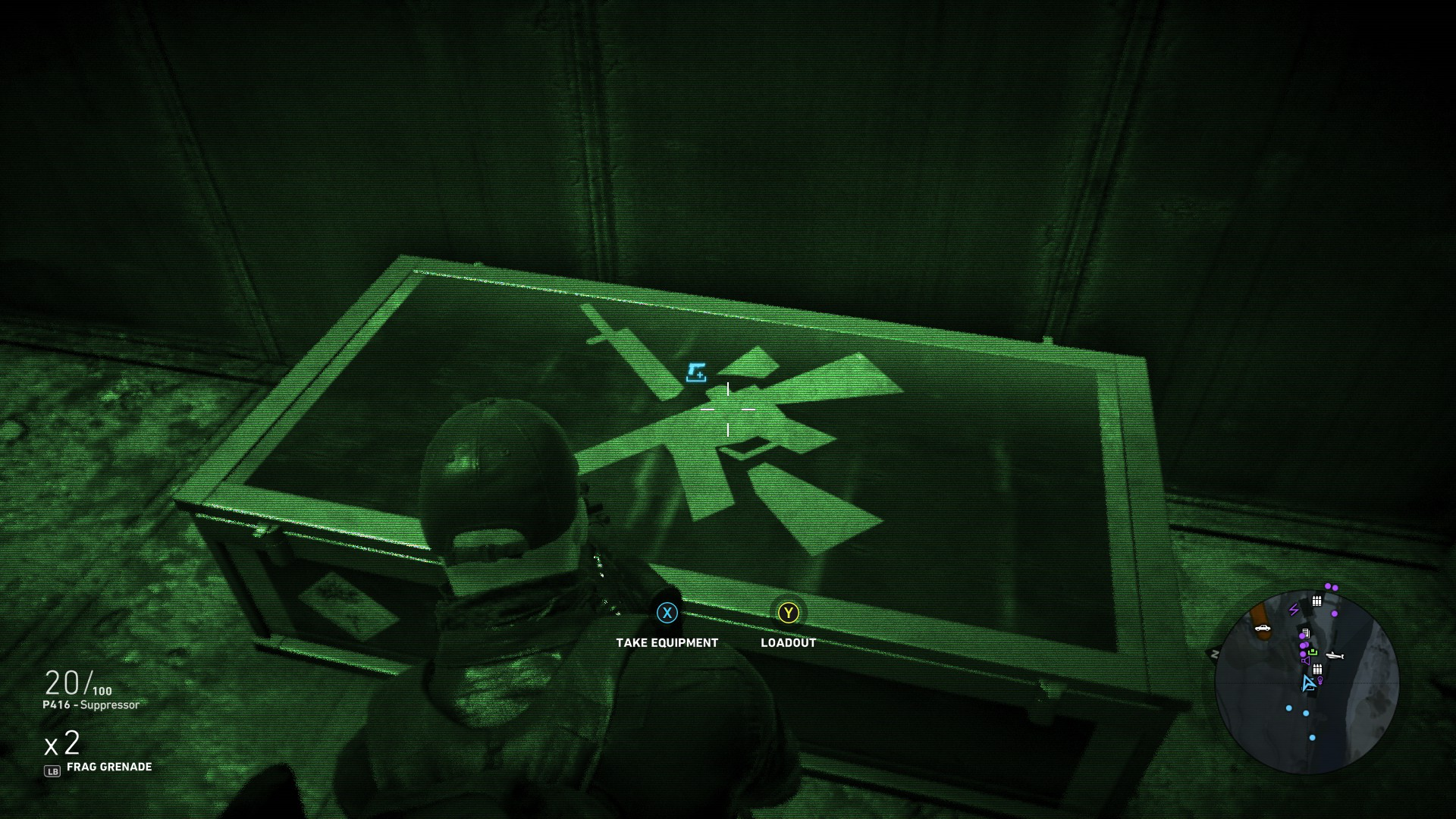 ACR Weapon case image - The ACR Assault Rifle location in Ghost Recon Wildlands