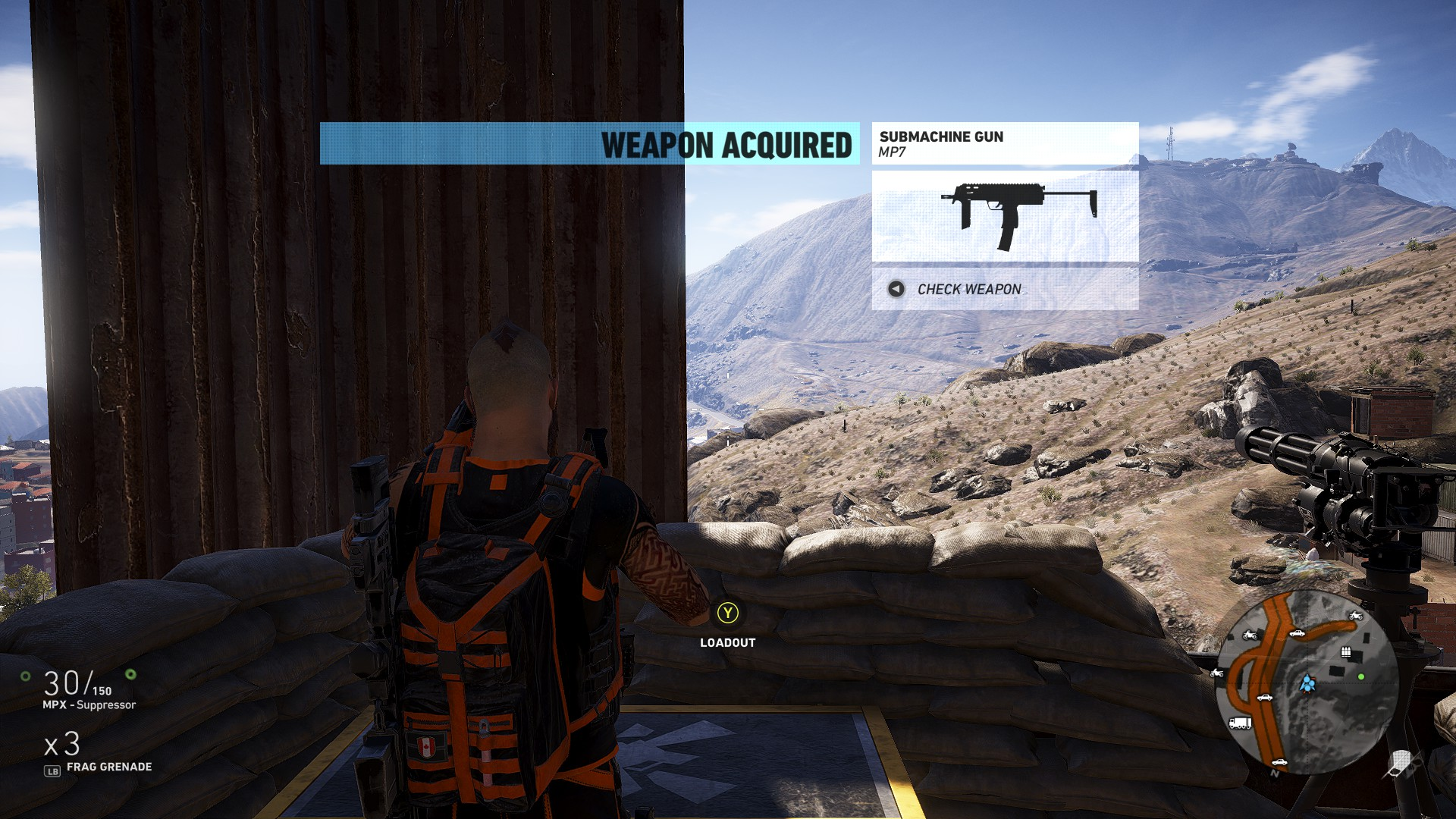 The MP7 in Ghost Recon Wildlands