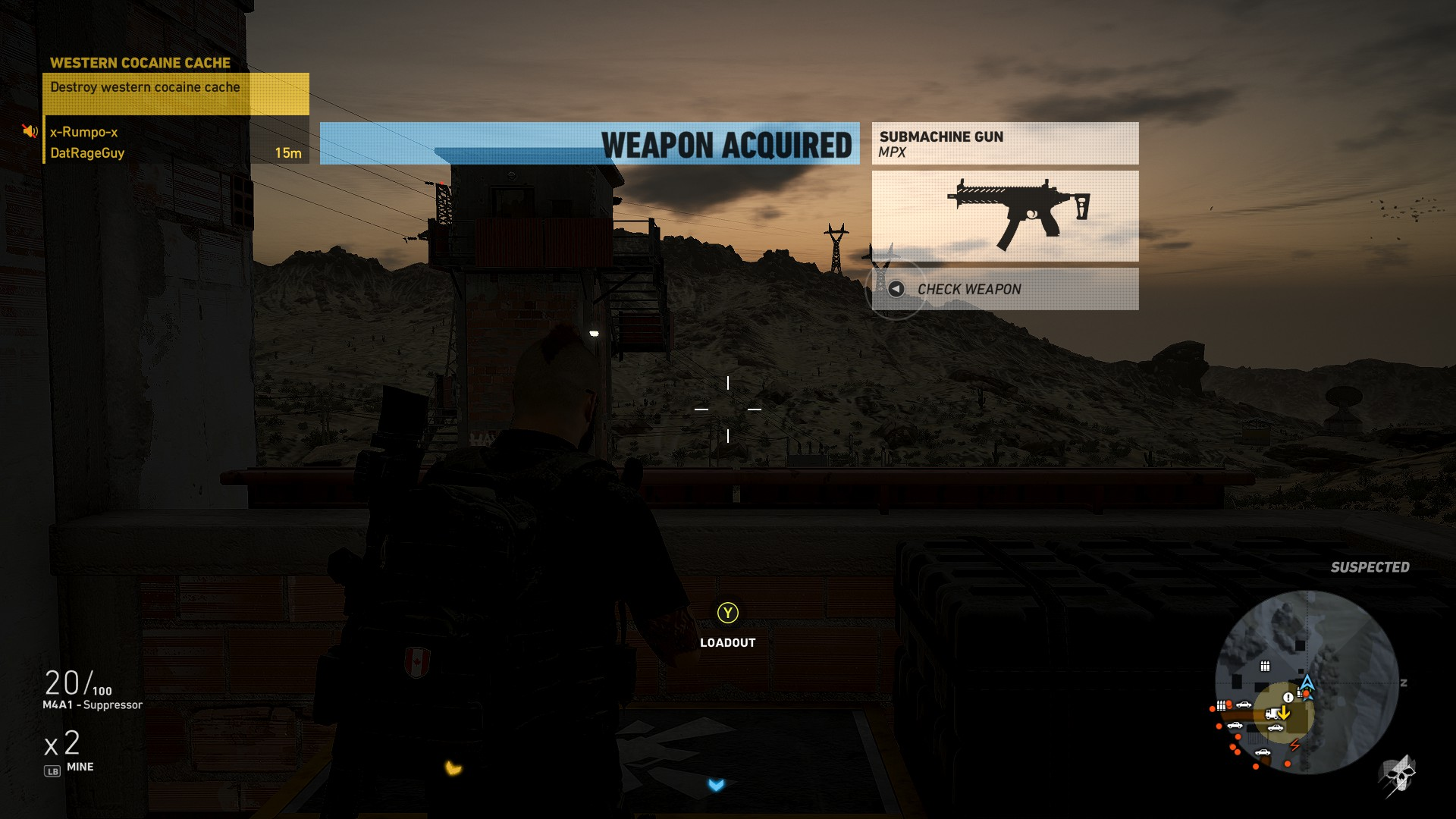The MPX Submachine Gun - How to get the MPX in Ghost Recon Wildlands