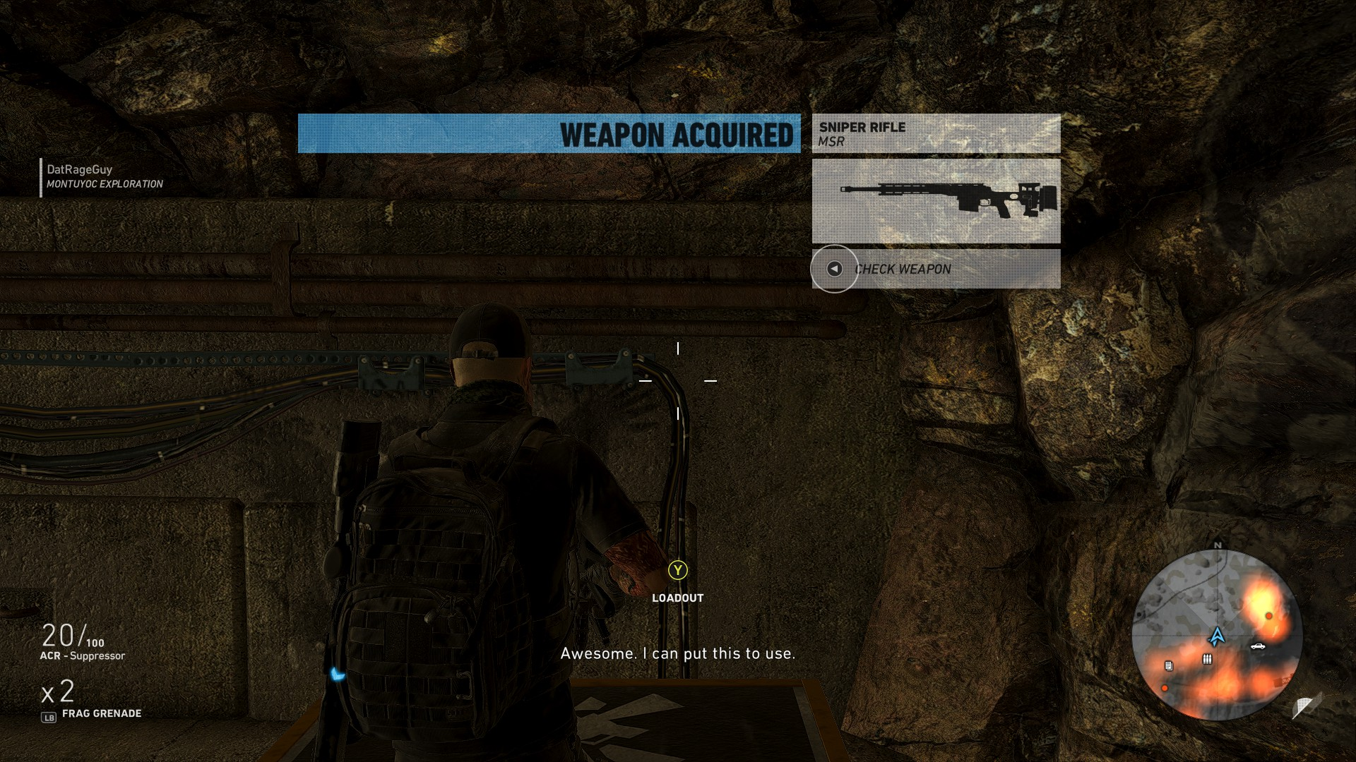 The MSR - Wildlands best sniper MSR location