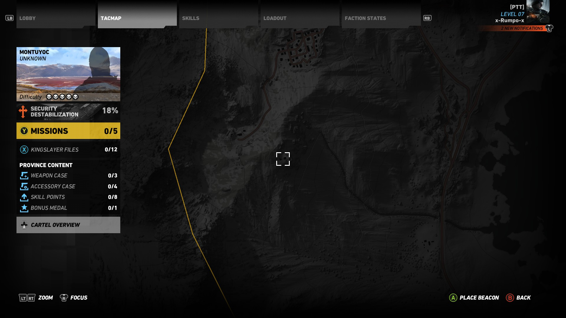 MSR Map - MSR location in Ghost Recon Wildlands