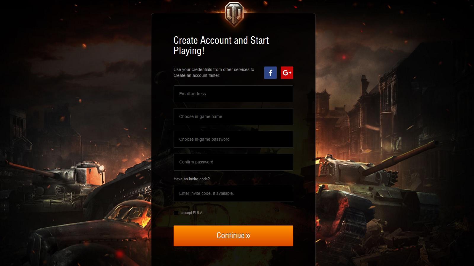 World of Tanks Invite Code AllGamers