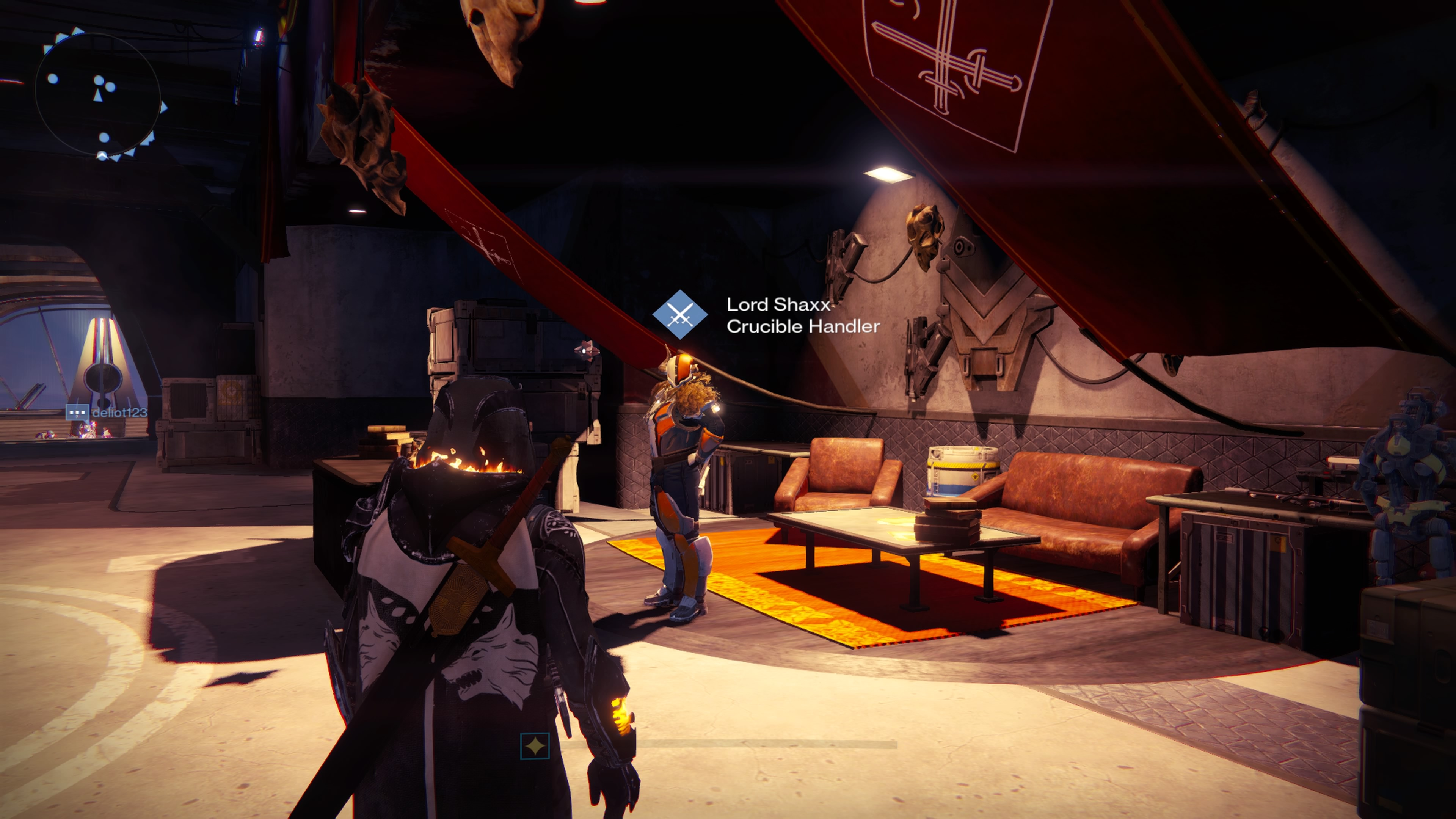 Visit Lord Shaxx and grab two of his Bounties. Complete them in the Crucible