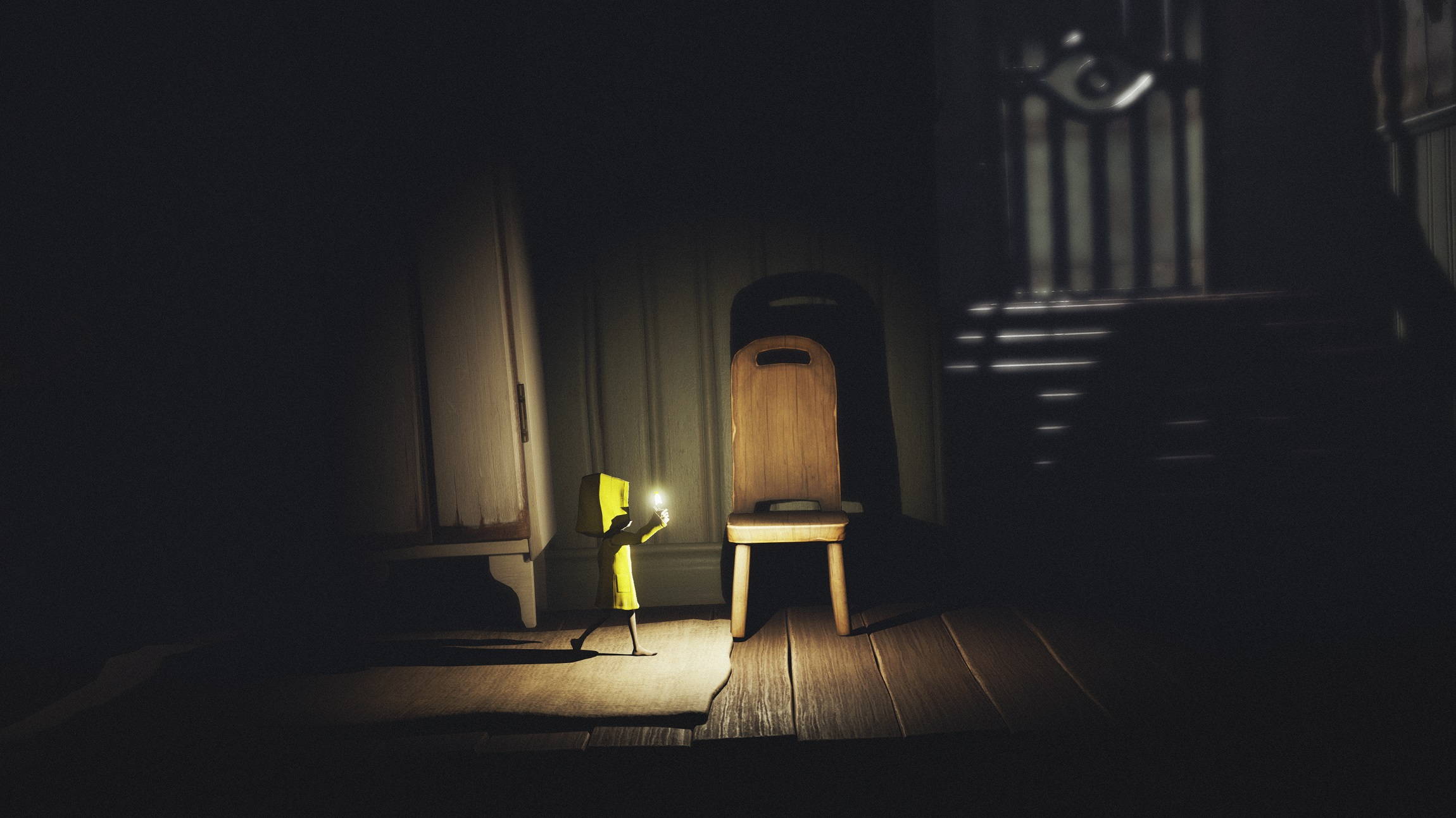 Six eventually finds her way inside the quarters belonging to the mysterious Lady in Little Nightmares.