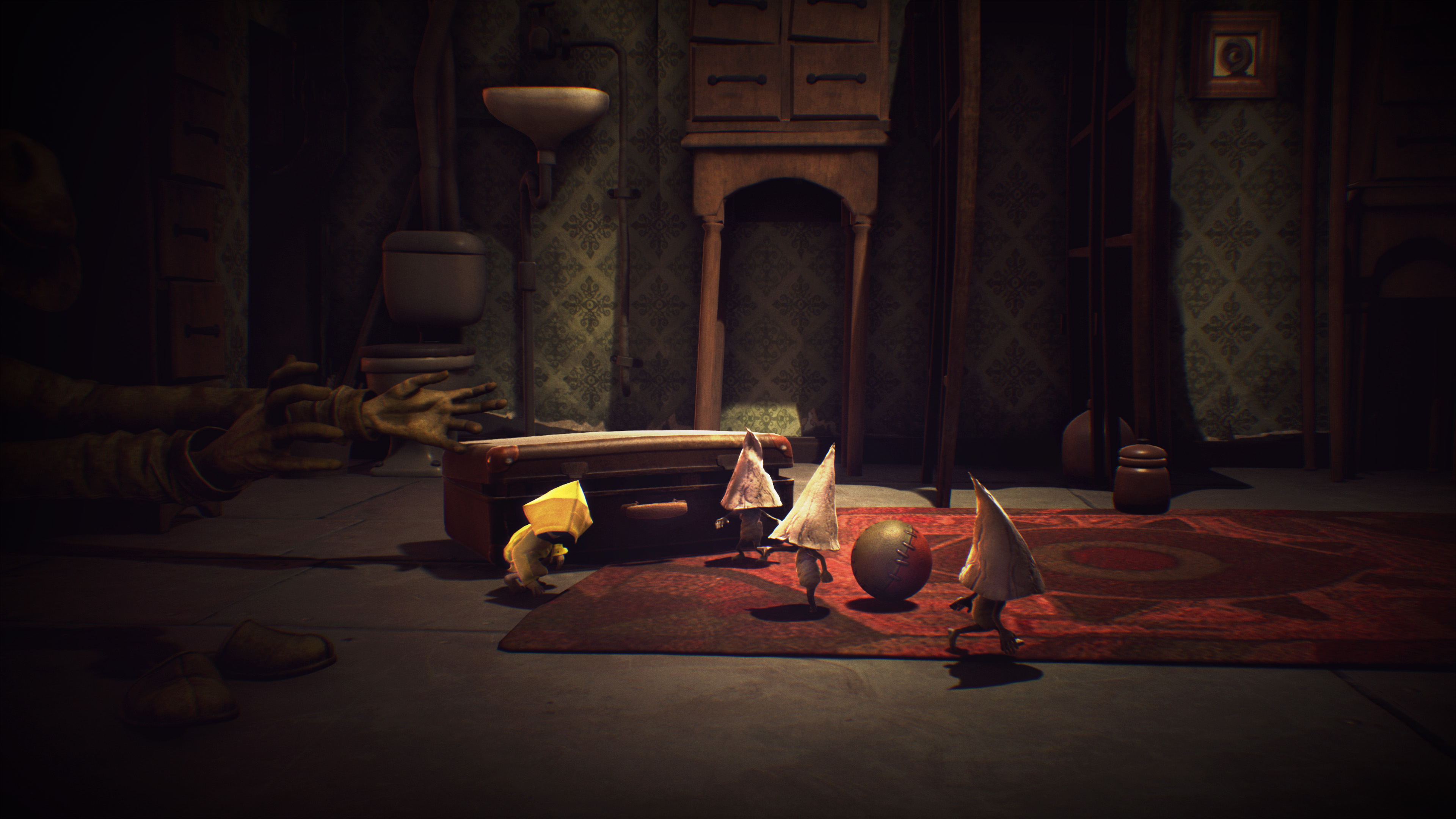 The Nome creatures Six comes across during her adventures in Little Nightmares.