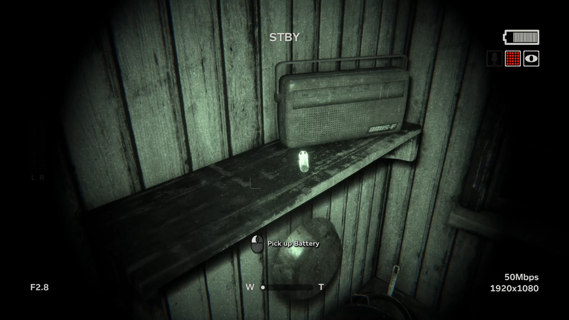 You're going to want to find every battery possible in Outlast 2.