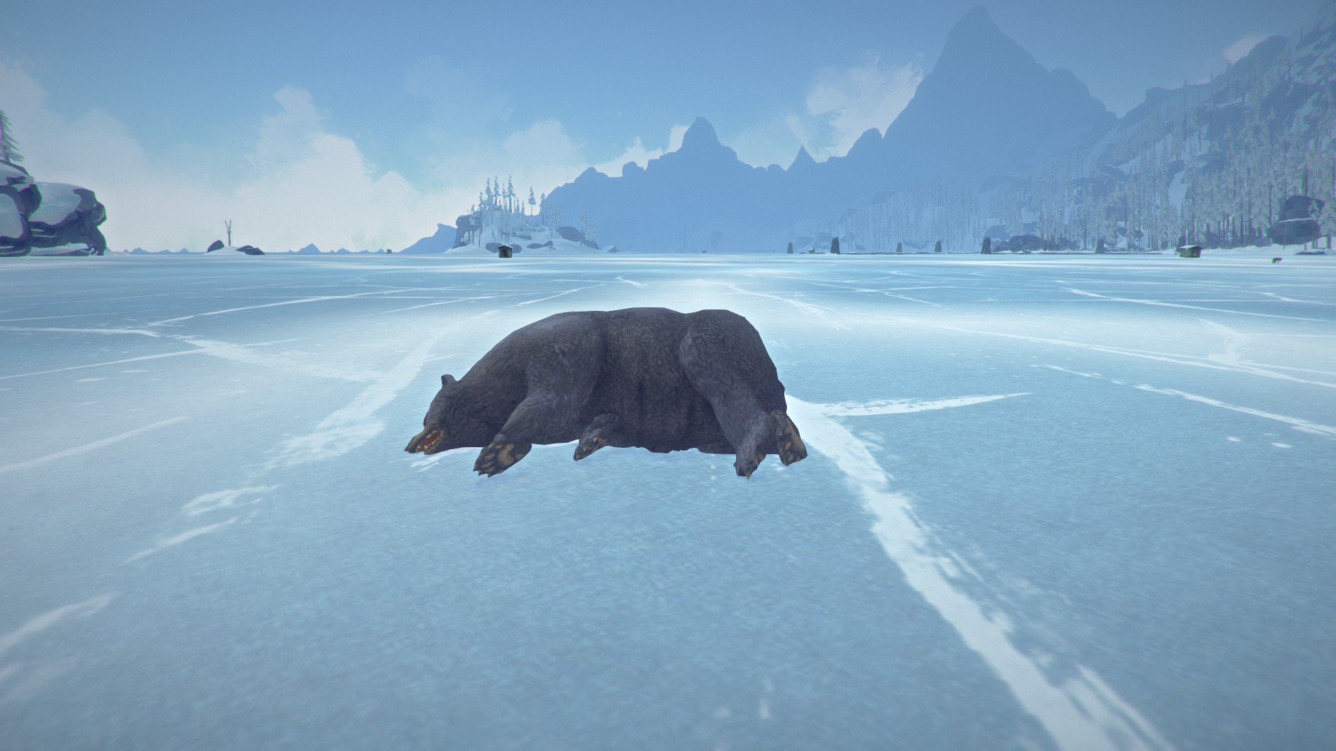 If you've never played The Long Dark, watch out for bears.
