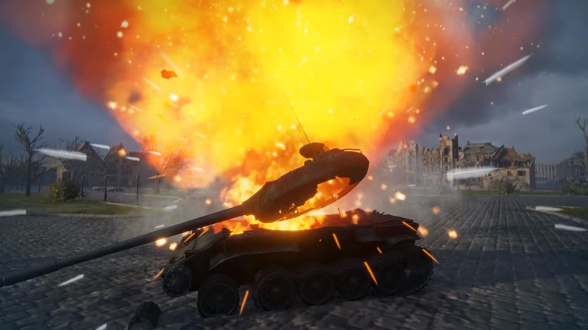 Easy Ammo Rack Targets in World of Tanks | AllGamers