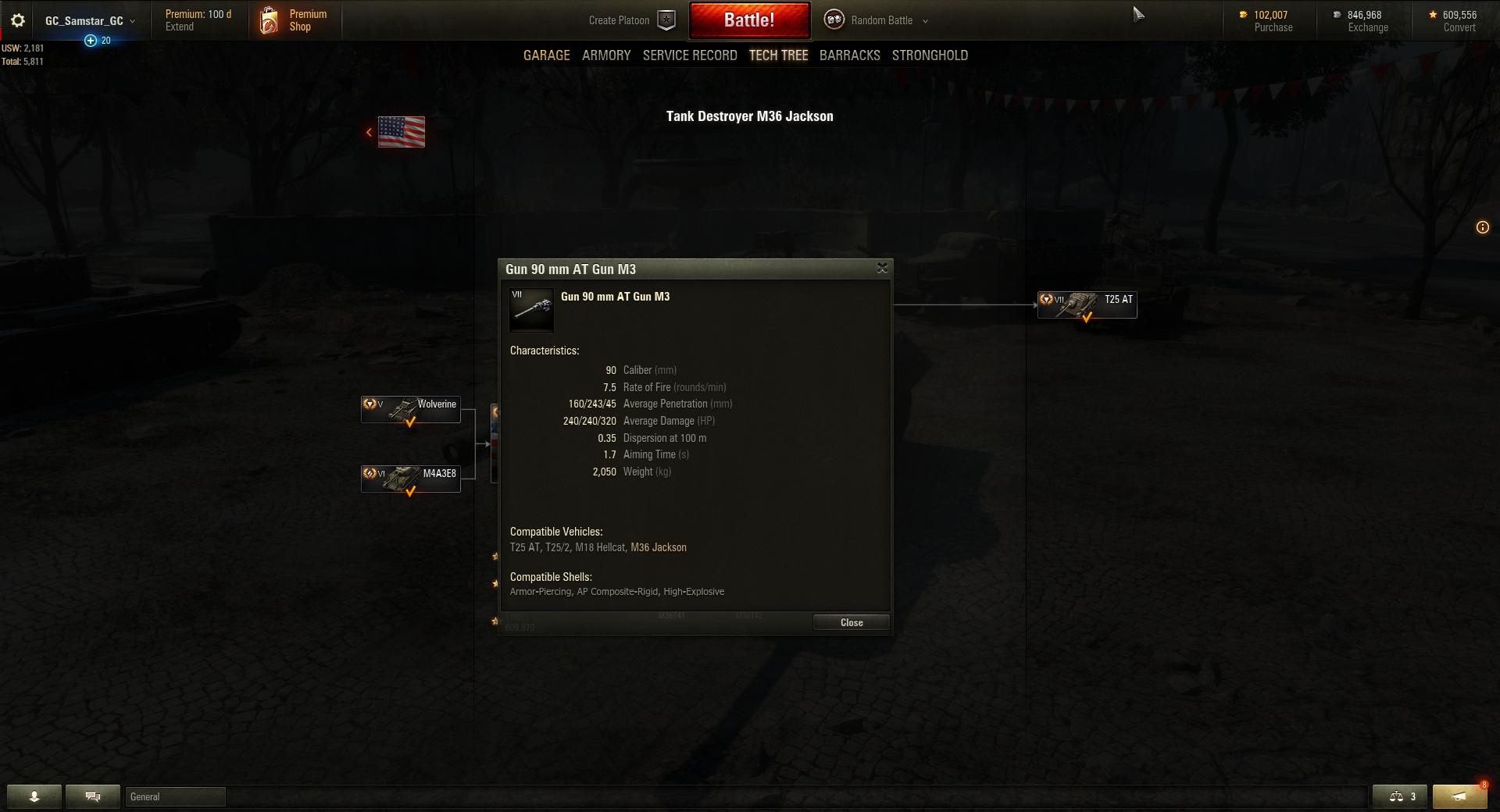 History of Tanks - M36 Jackson | AllGamers
