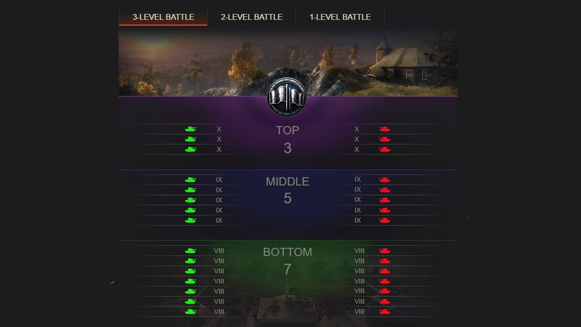 world of tanks td matchmaking
