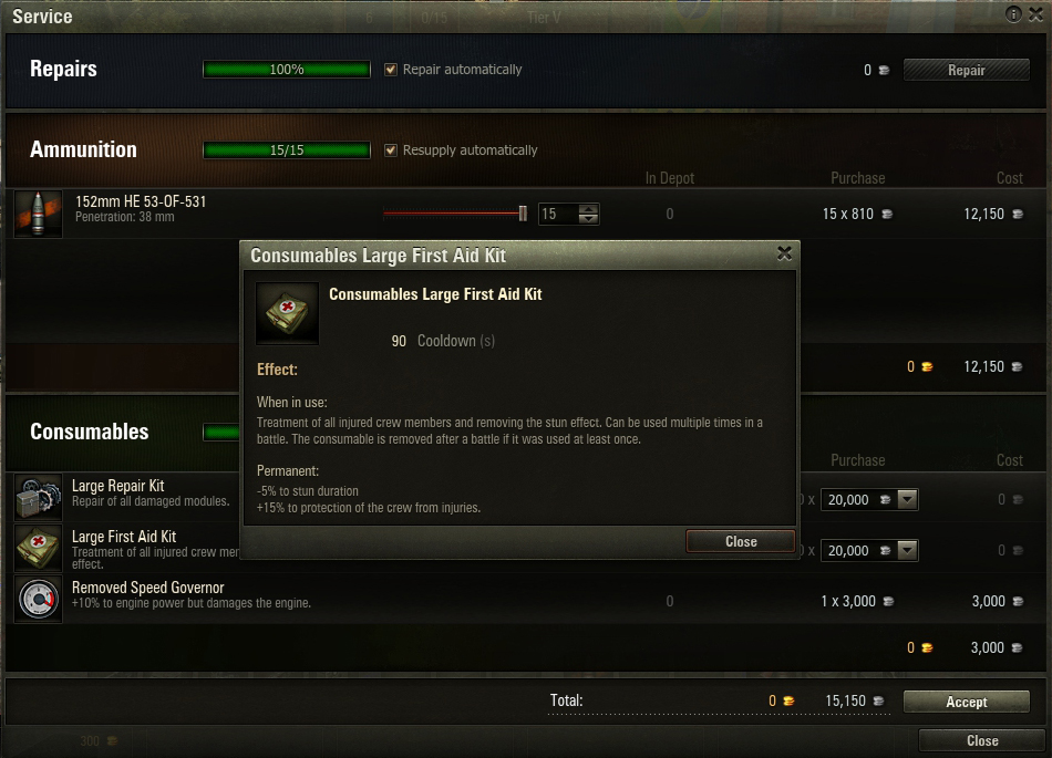 The Large First Aid Kit has impressive passive bonuses, making it useful to simply sit unused in your inventory.