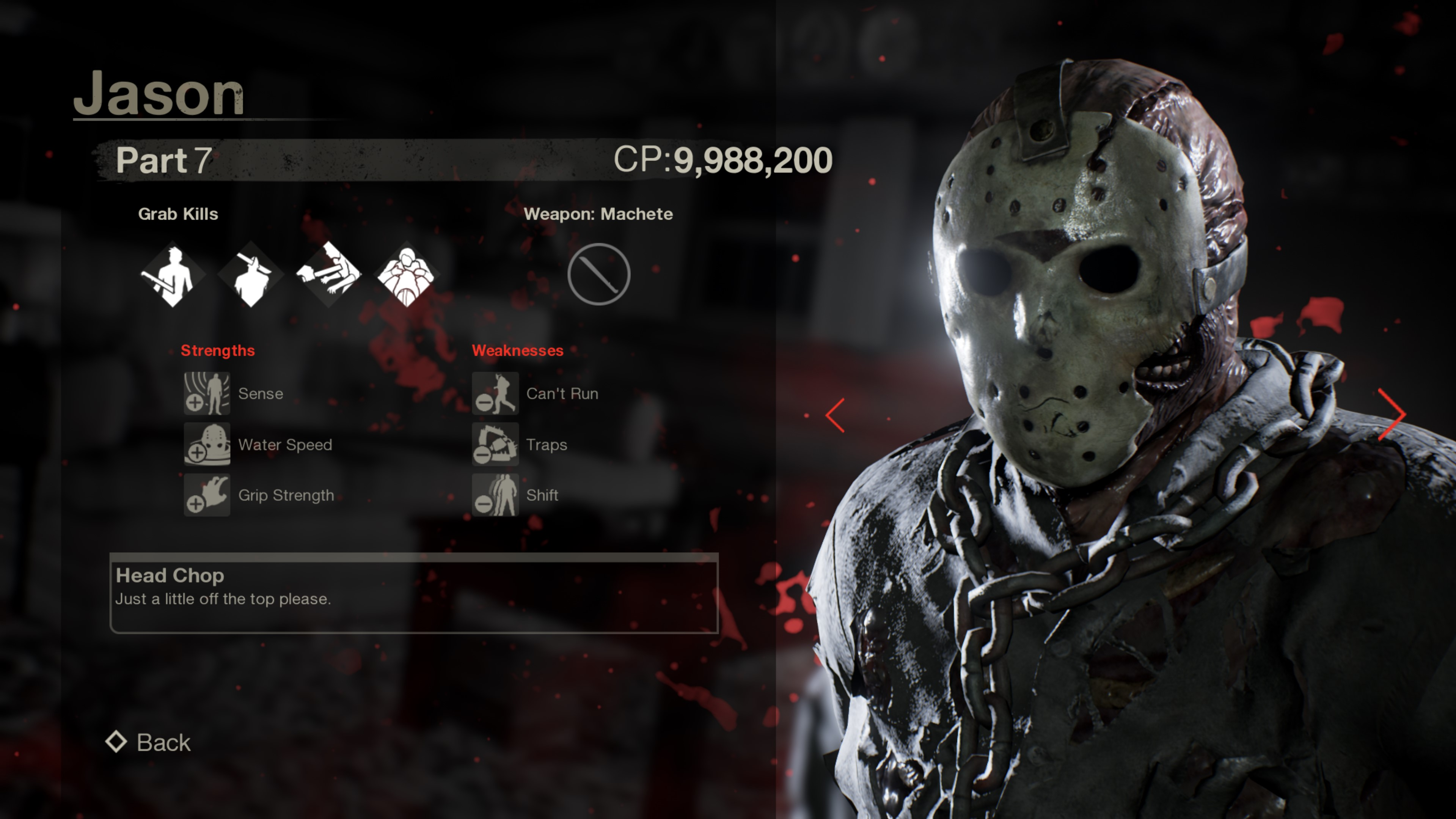 Jason from Friday the 13th part 7