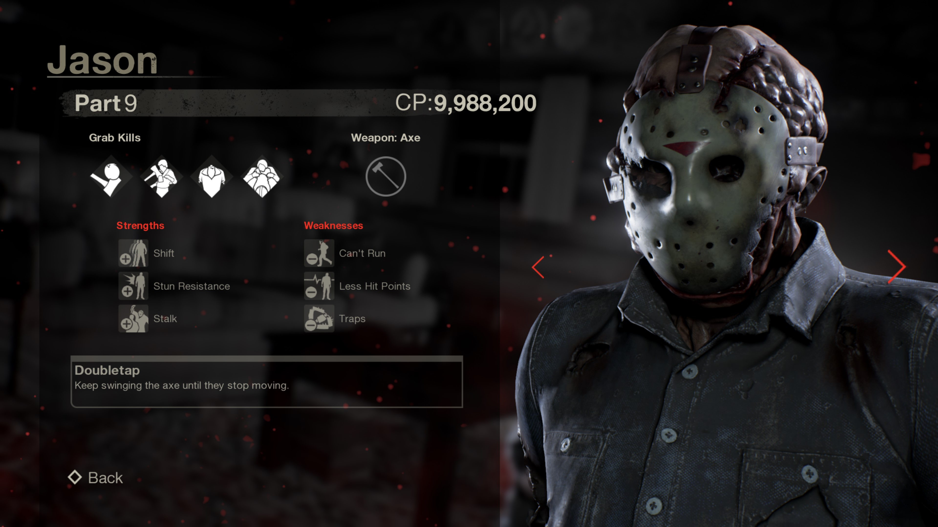 Jason from Friday the 13th part 9