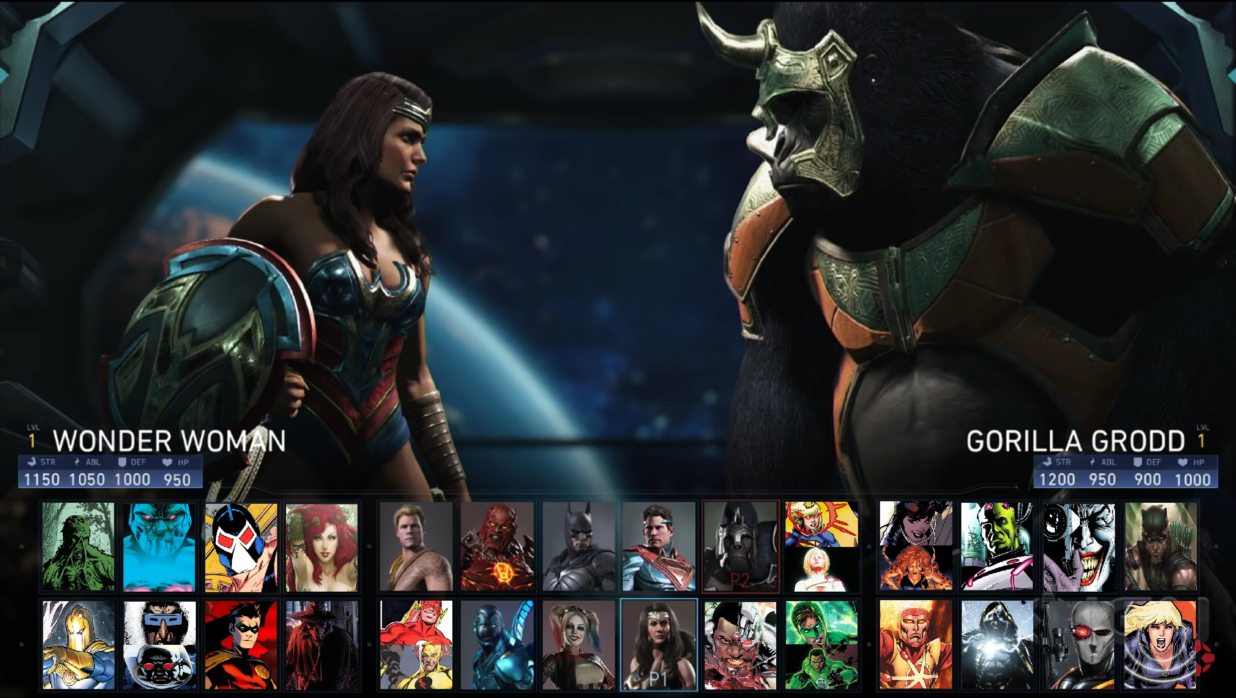 injustice 2 apk mod all characters