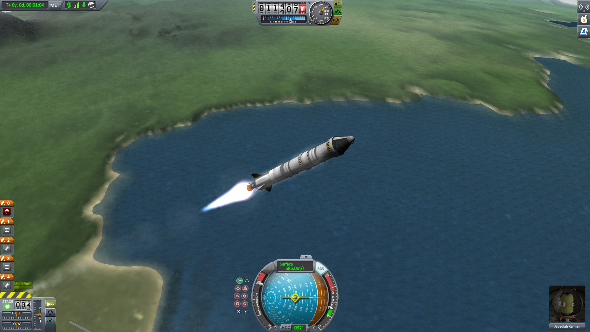 Kerbal Space Program: How To Get Into Stable Orbit | AllGamers