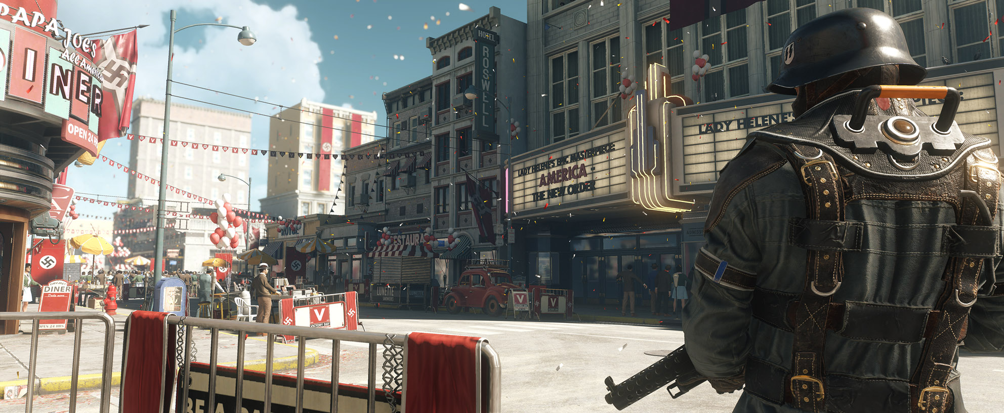 Wolfenstein: The New Colossus will release on the PS4, Xbox One and PC on October 27th, 2017.