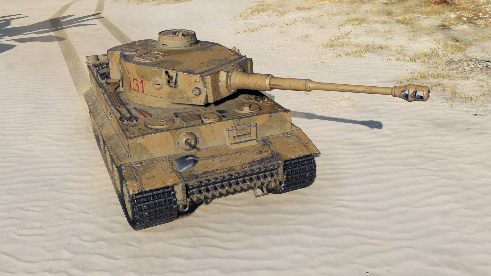 The Tiger 131 comes with the Brothers in Arms Crew, which is a main selling point.