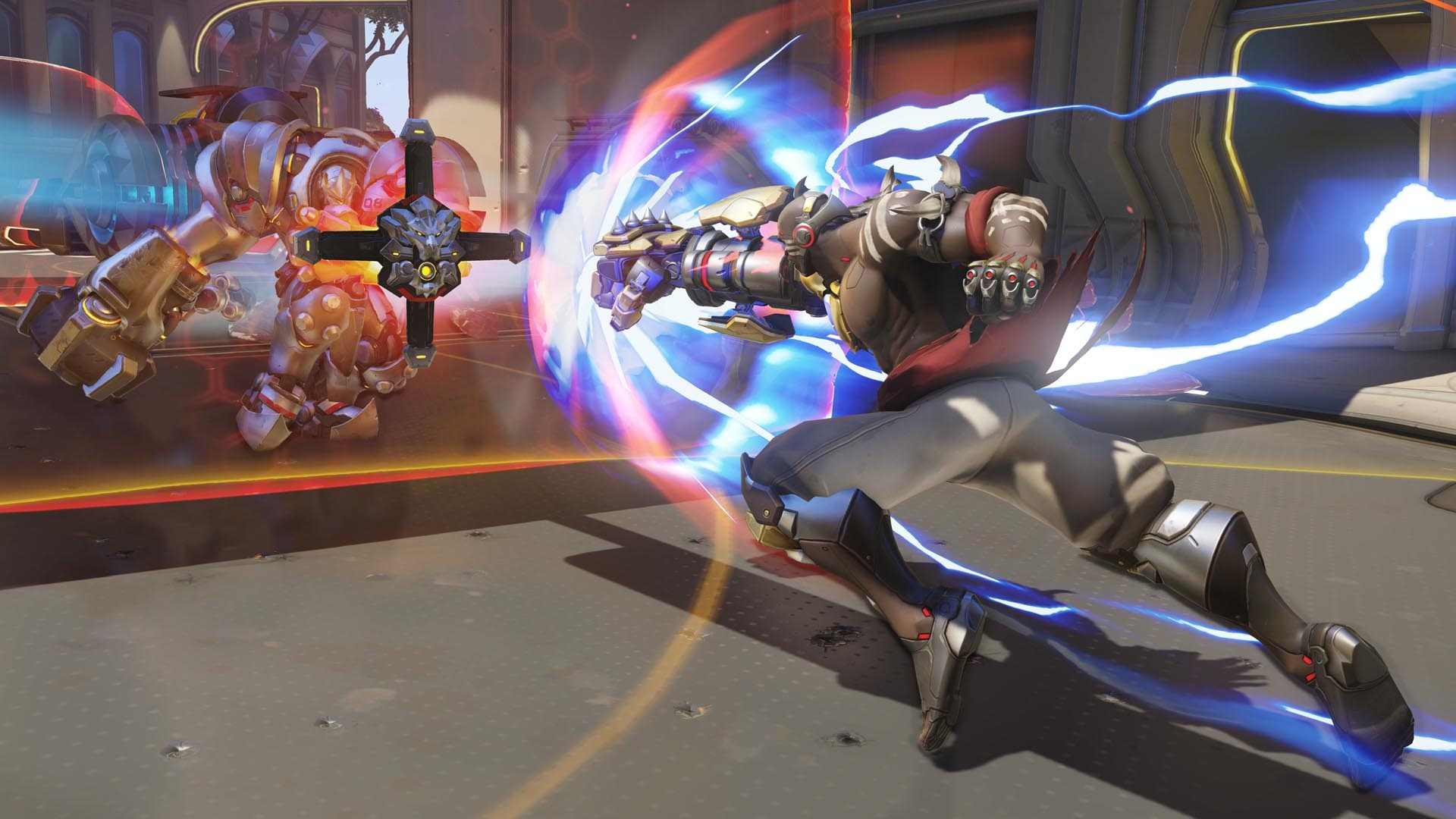 Currently, there are no announced skins for Doomfist in Overwatch.
