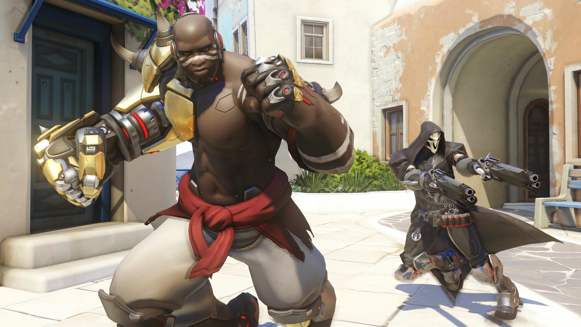 No, Terry Crews is not the voice actor for Doomfist, it's Sahr Ngaujah.