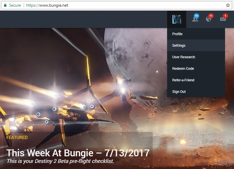 Destiny 2: How to Link Your Blizzard Account | AllGamers