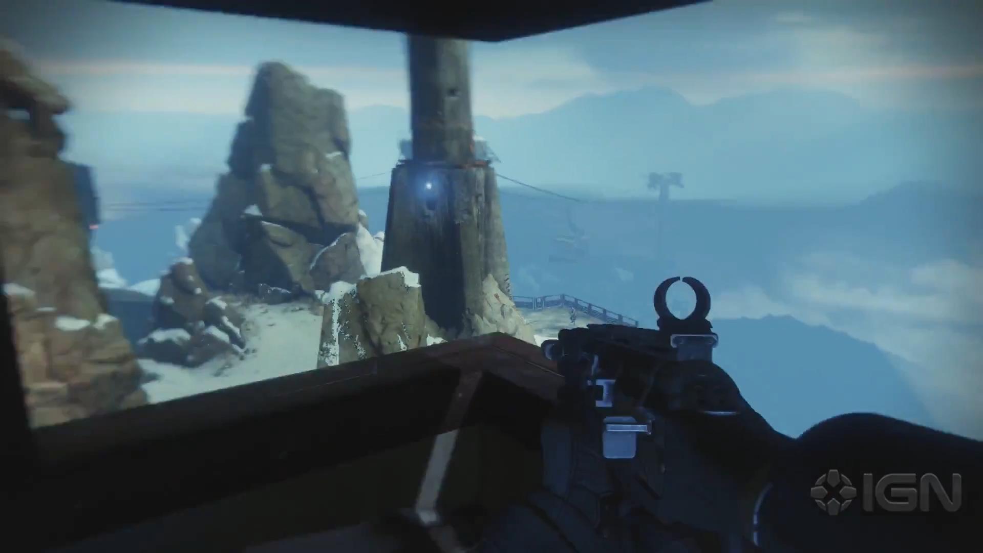 The B-flag sniper's nest.