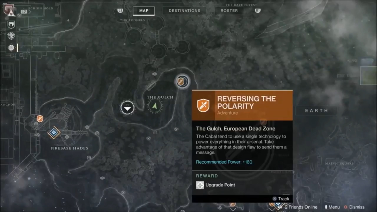 Leaked footage of the destiny 2 european dead zone surfaces allgamers adventures can be tracked from the map you just need to find the beacon in gumiabroncs Gallery