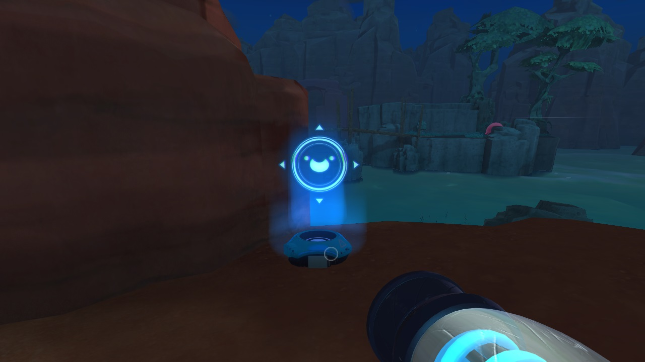 A map node. All Map Node locations in Slime Rancher