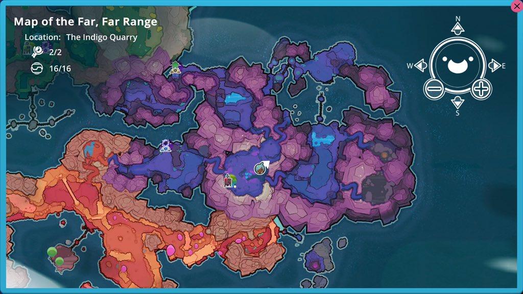 Indigo Quarry Map Node - All map node locations