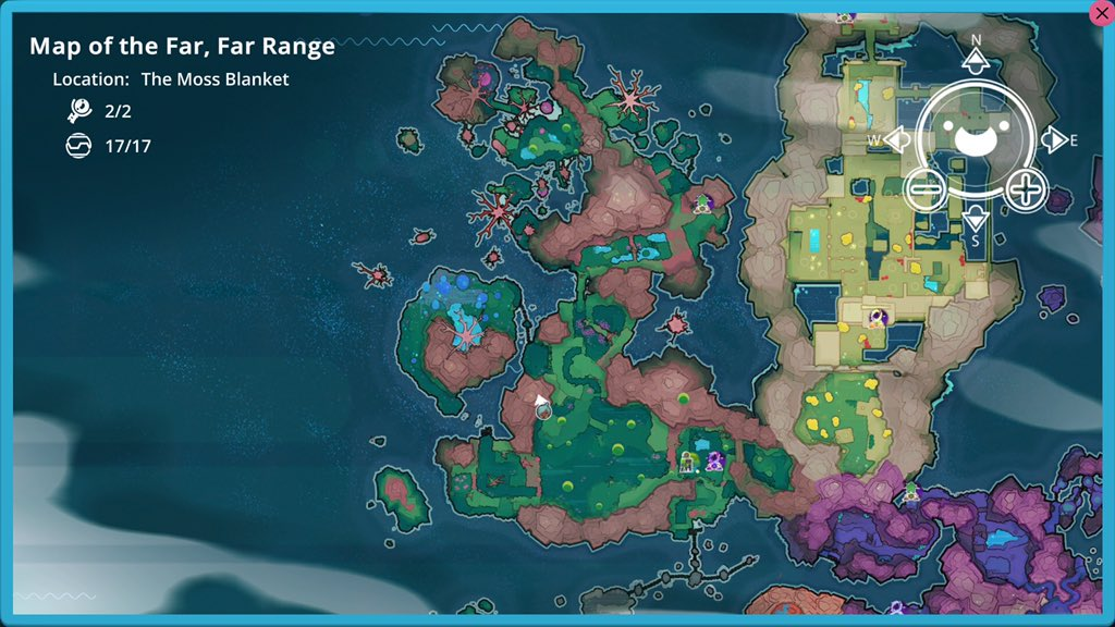 Slime rancher all map node locations allgamers moss blanket map node location gumiabroncs Image collections