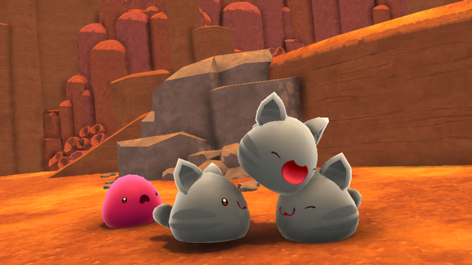 Tabby Slime - Learn about Slime Types in Slime Rancher