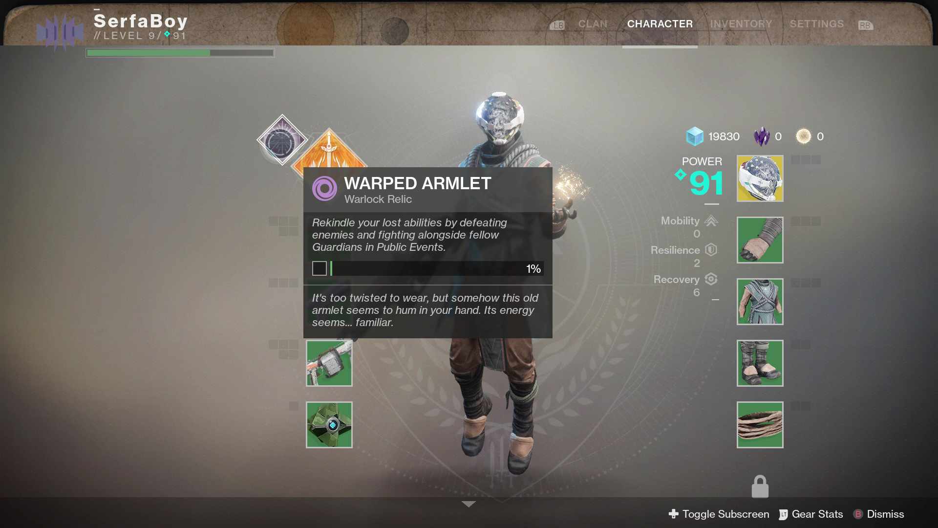 Unlocking the second subclass requires finding a special quest item for your class.