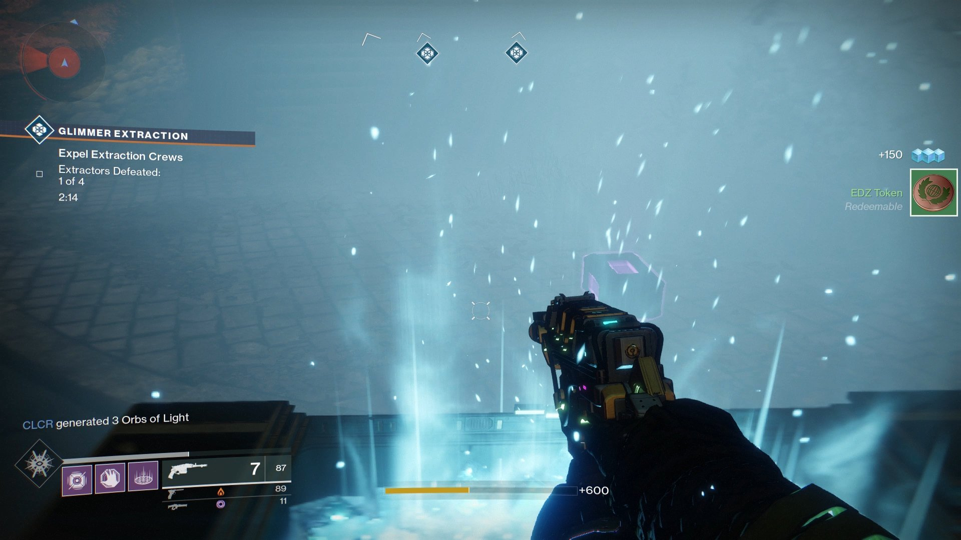 High priority targets drop loot chests, which contain small amounts of Glimmer.