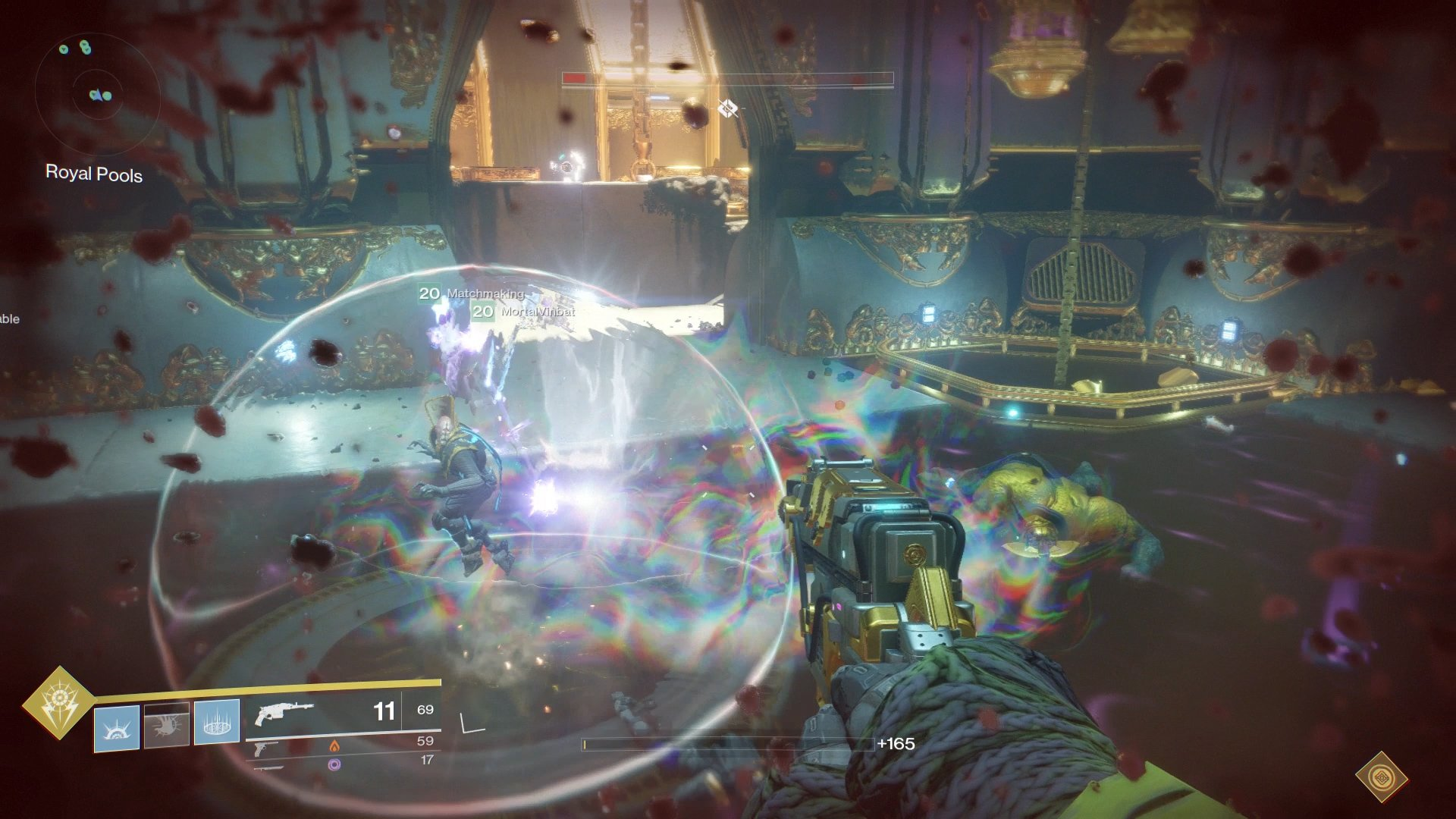 A Psion spawns after the Force of Will buff disappears - kill to to prevent a wipe.