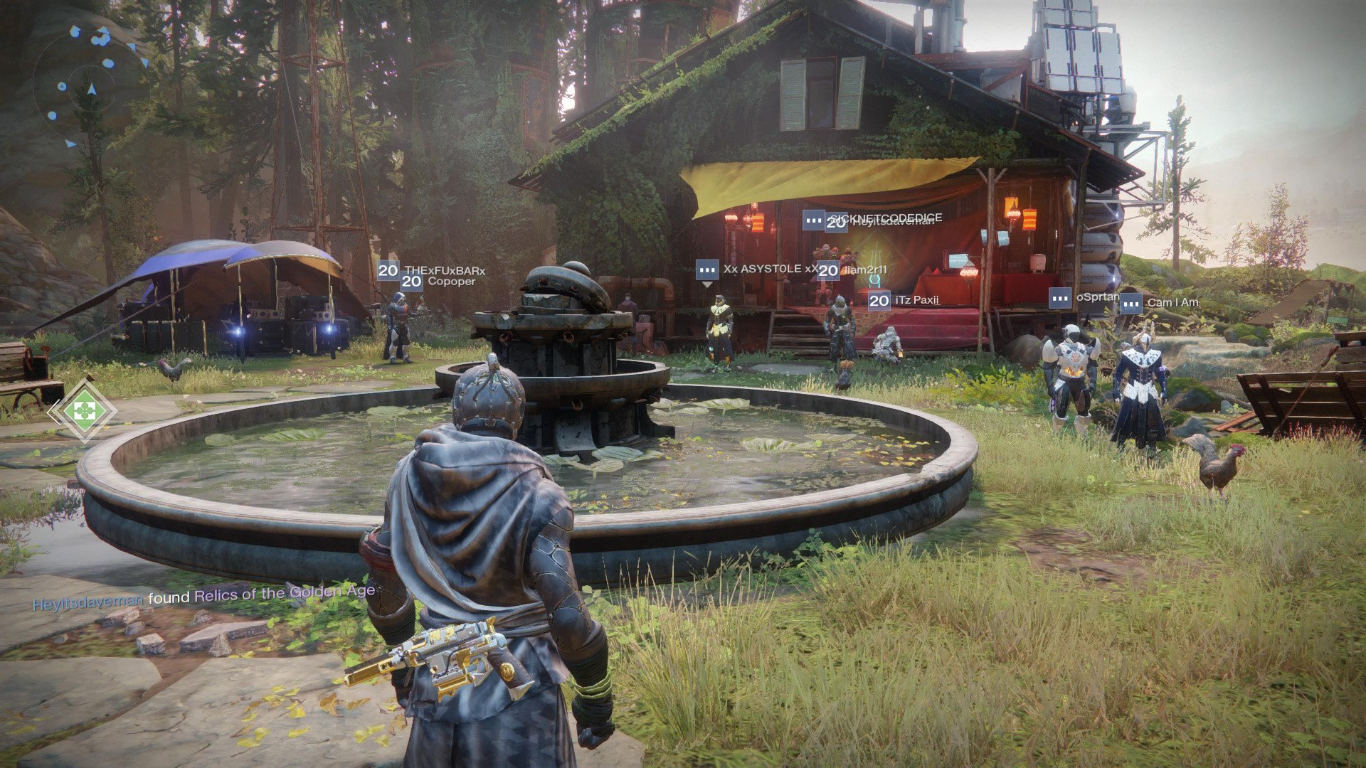 Where to find Tyra Karn in Destiny 2 - Image of her location