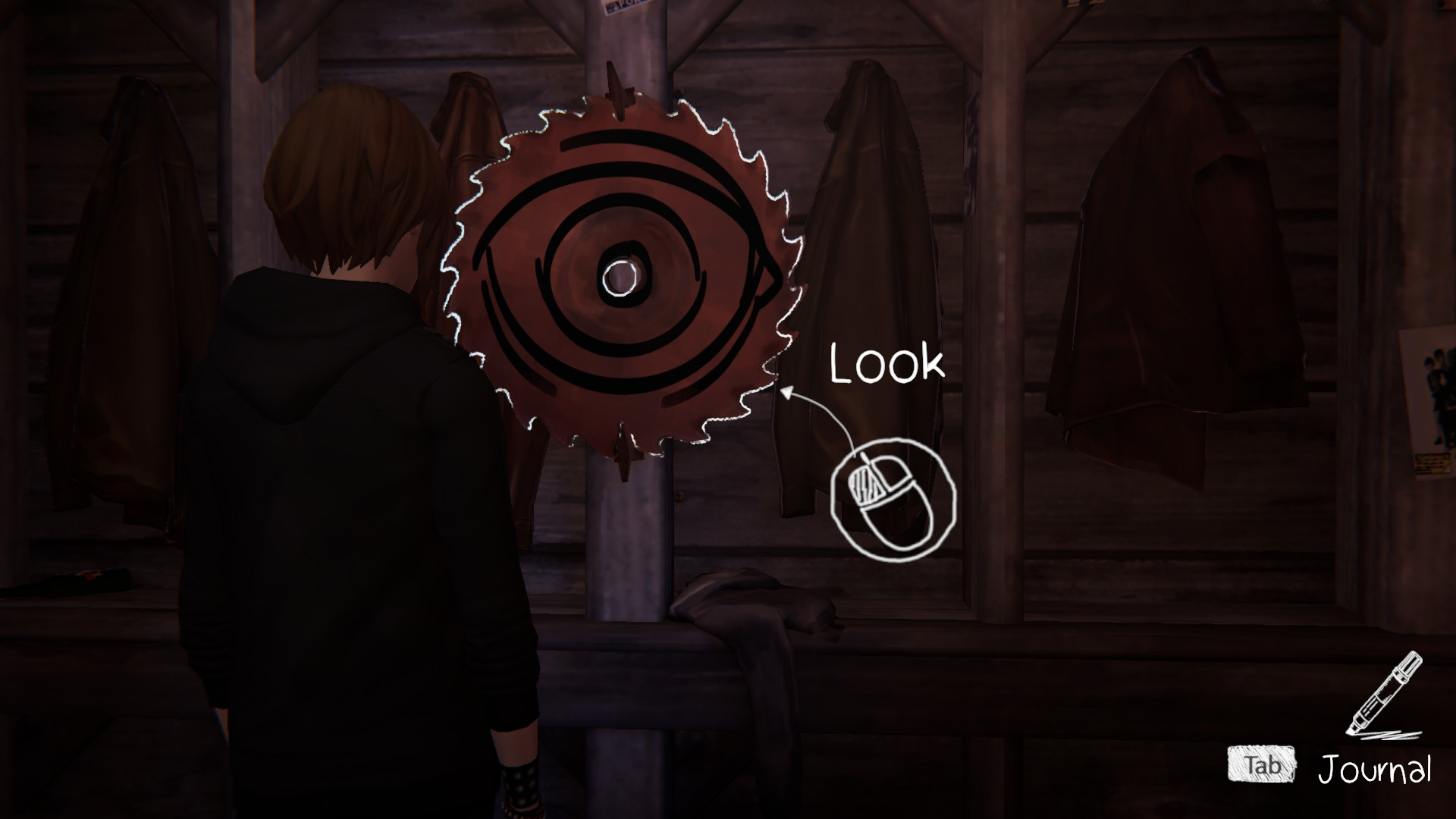 The second graffiti location in life is strange before the storm can be found on