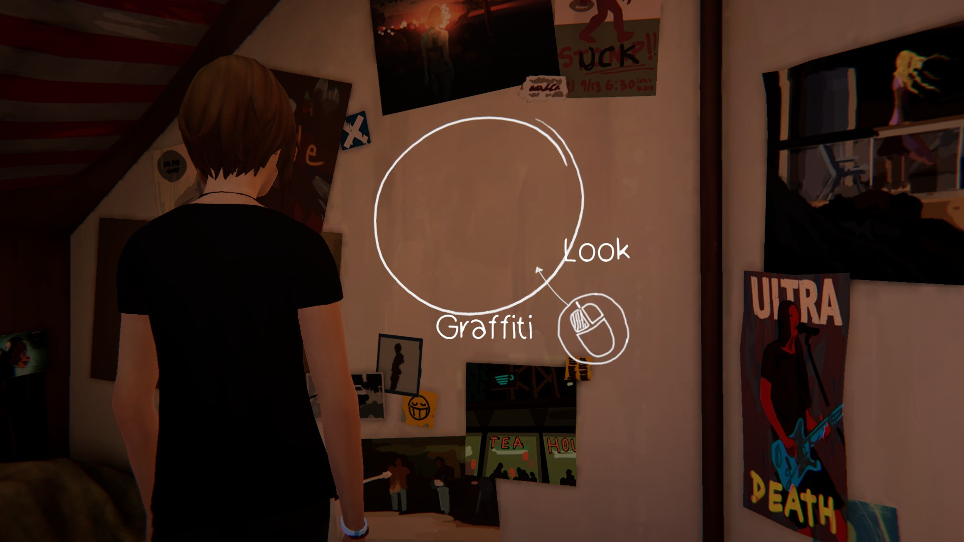 The third graffiti location in life is strange before the storm can be found in