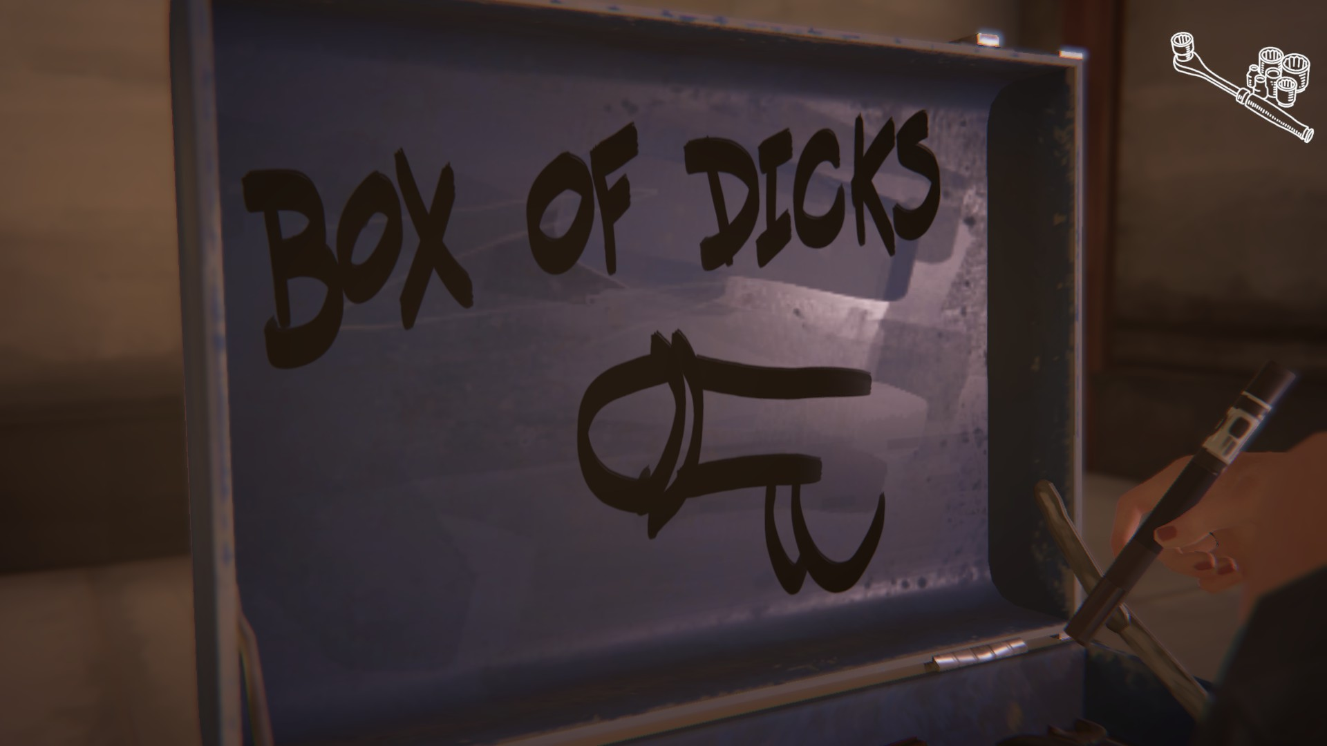 The fourth graffiti location in life is strange before the storm can be found as