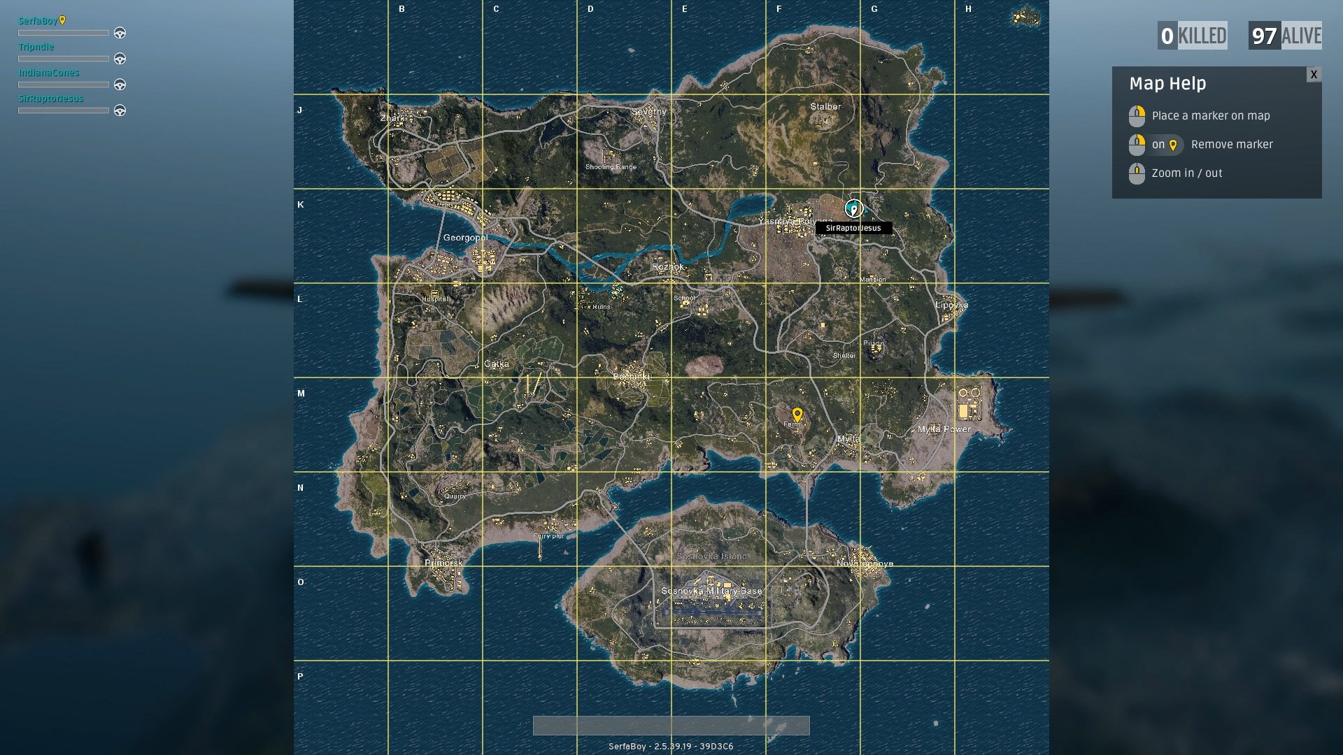 Predict where the plane will go and find a good place to land somewhere nearby. Alternatively, you can go for a long drop further away from popular areas.