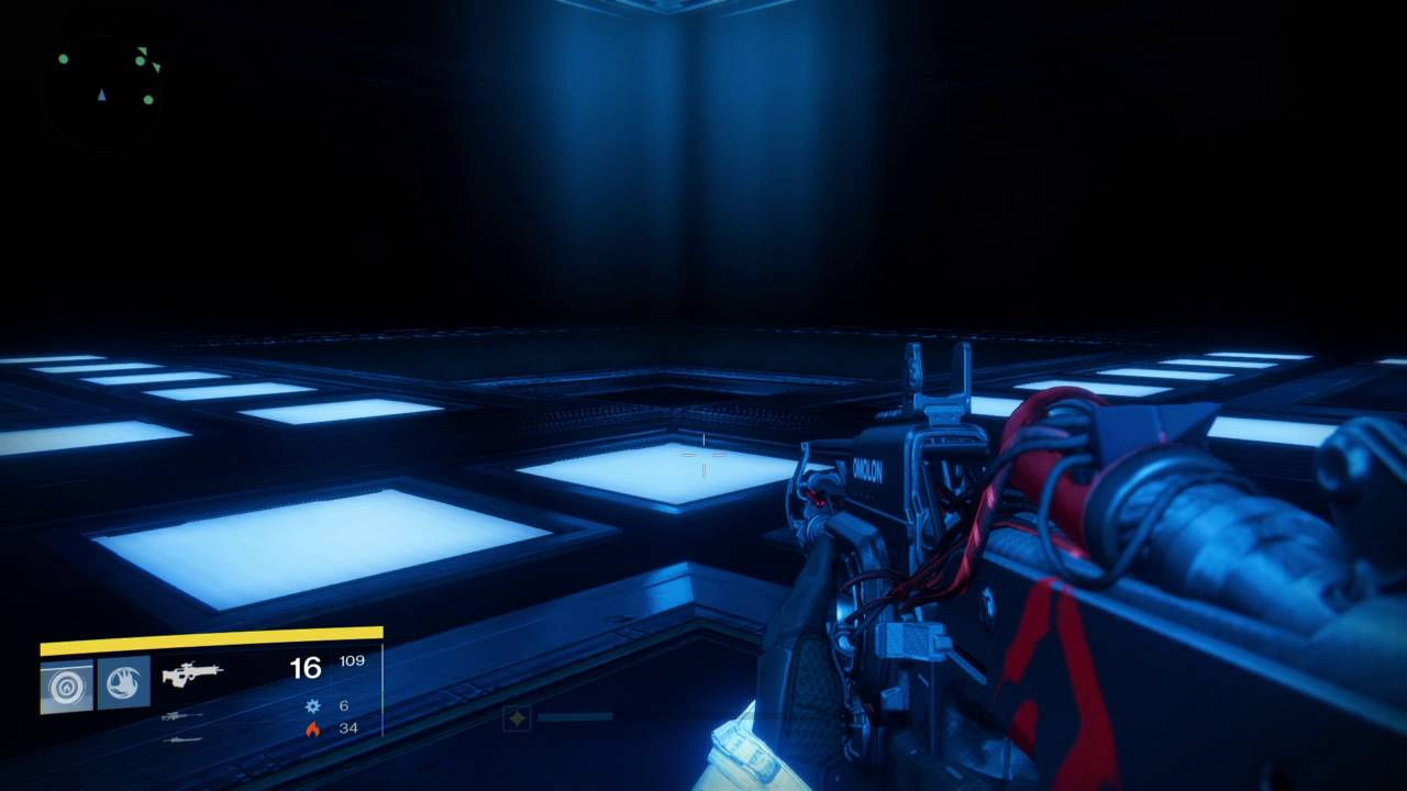 The light room poses a lot of questions, as each tile can light up independently of the others.