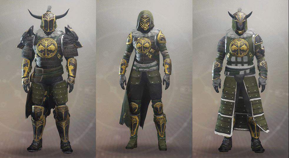 At least the Iron Banner weapons and armor look good!