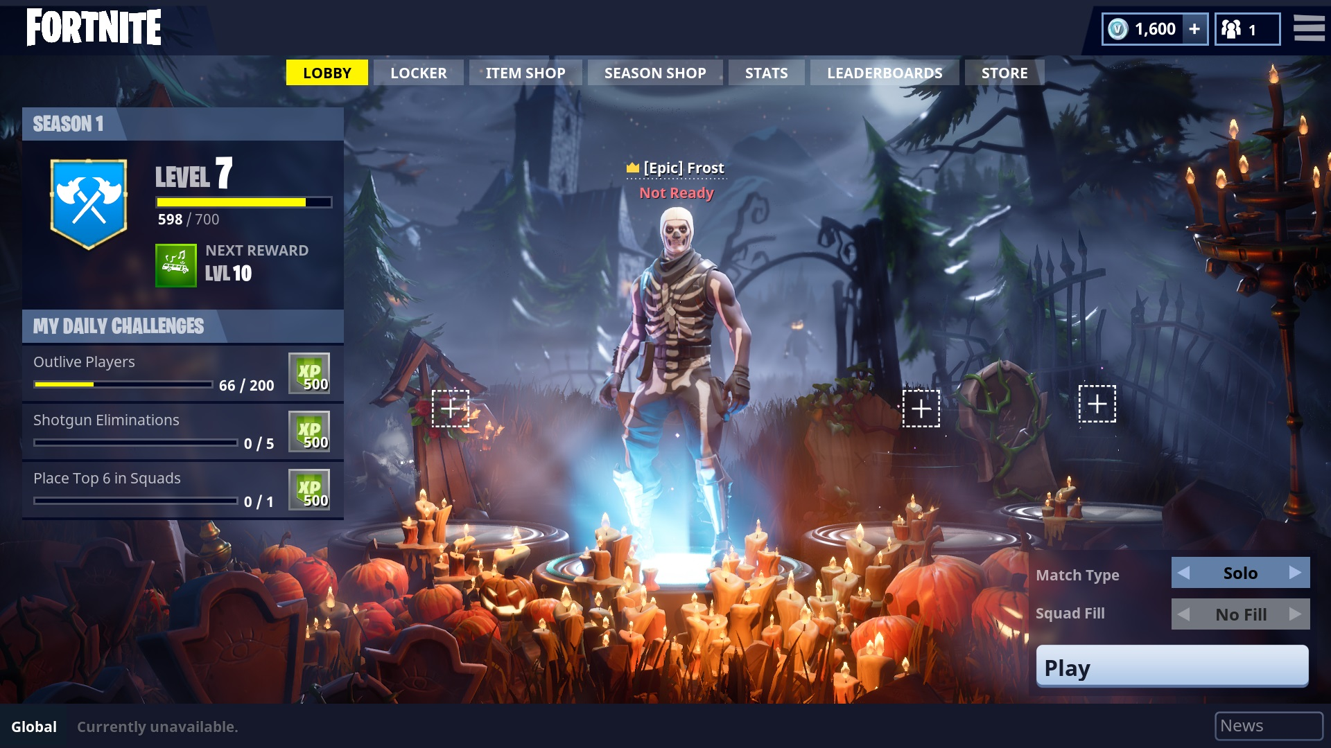 fortnite patch adds new battle royale features and halloween skins