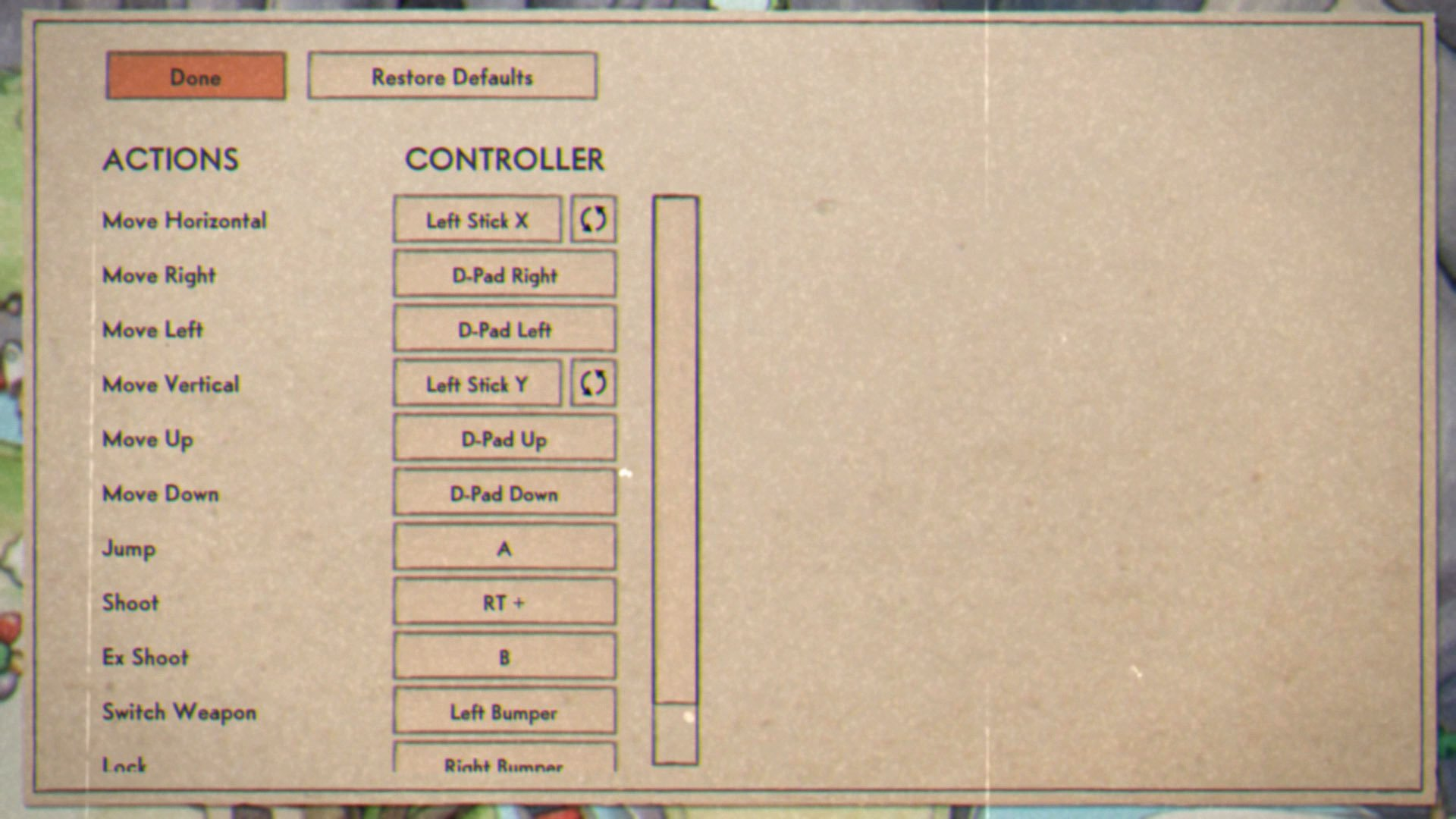 Head into the pause menu and change the controls to help the game feel more comfortable for you.
