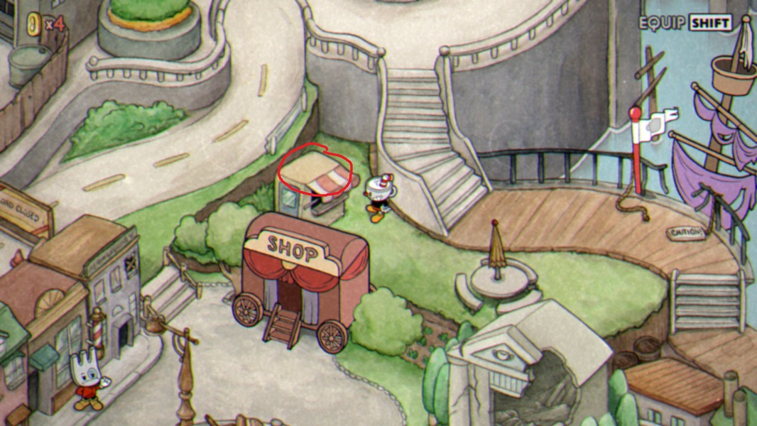 Inkwell Isle - Hidden Coin locations in Cuphead