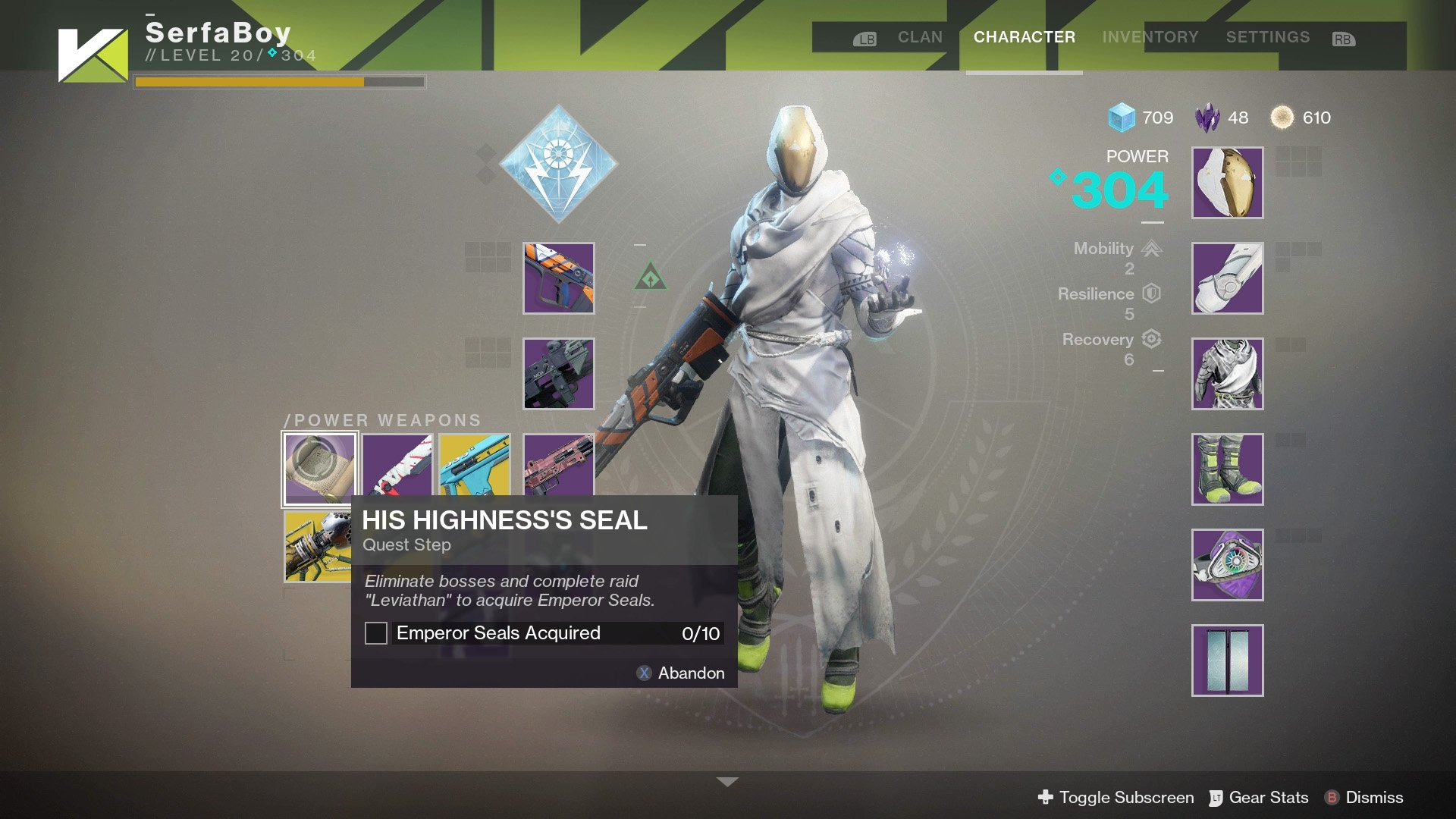 Out of all the Exotics weapons, only a few of them quests, of which none are particularly long or involved.