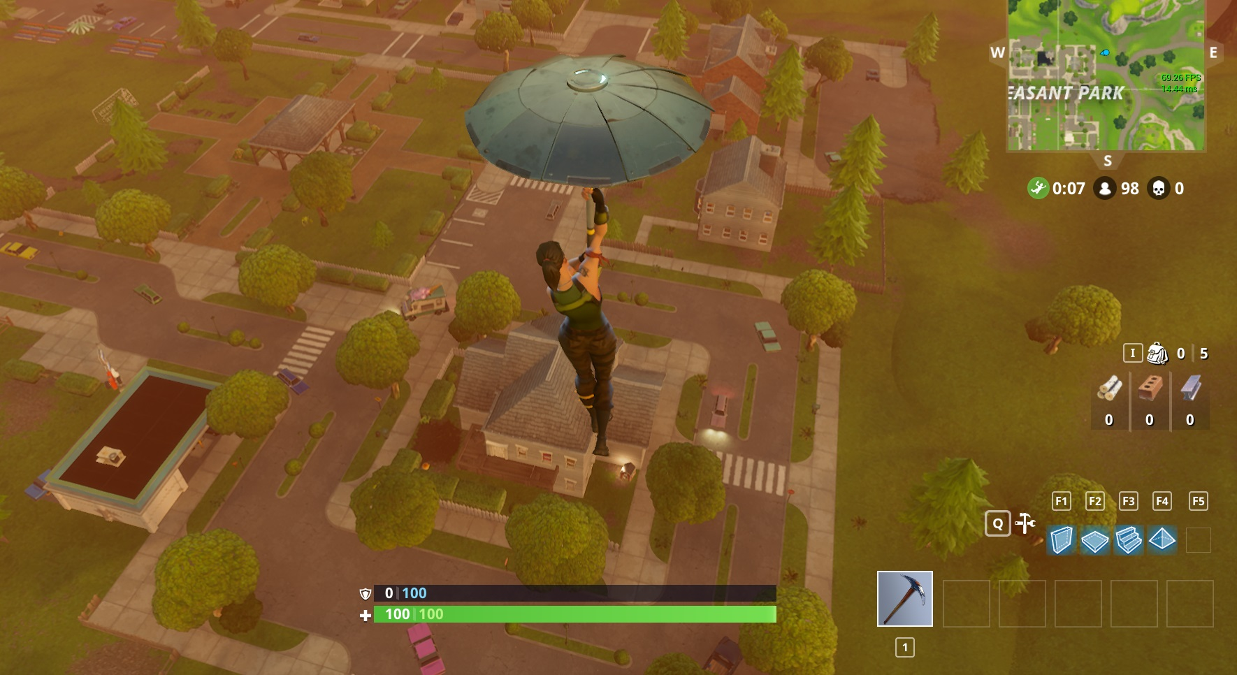 How To Get An Umbrella In Fortnite Battle Royale Allgamers