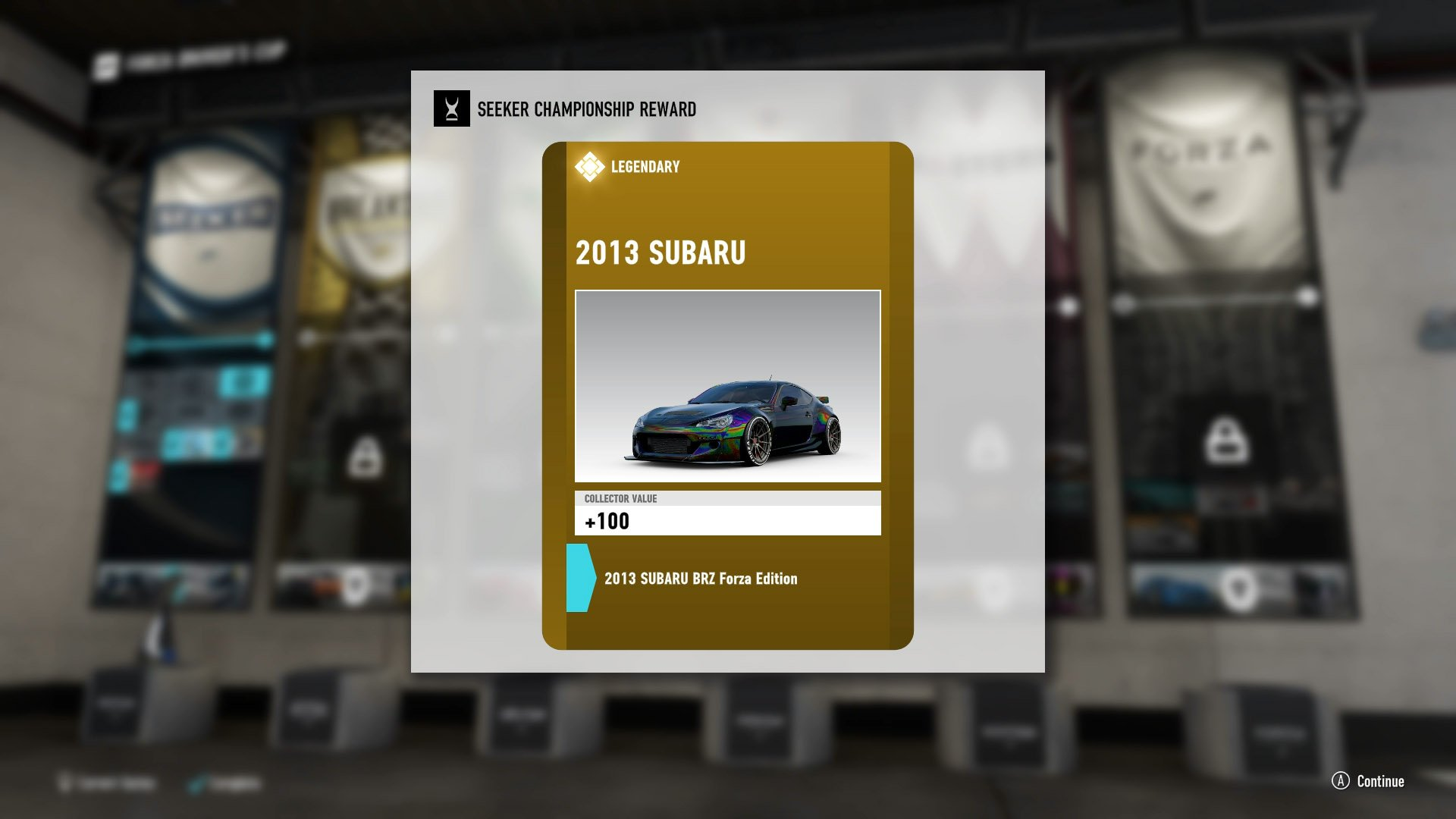Purchase cars, and receive them as rewards, to increase the rarity of cars you can collect.