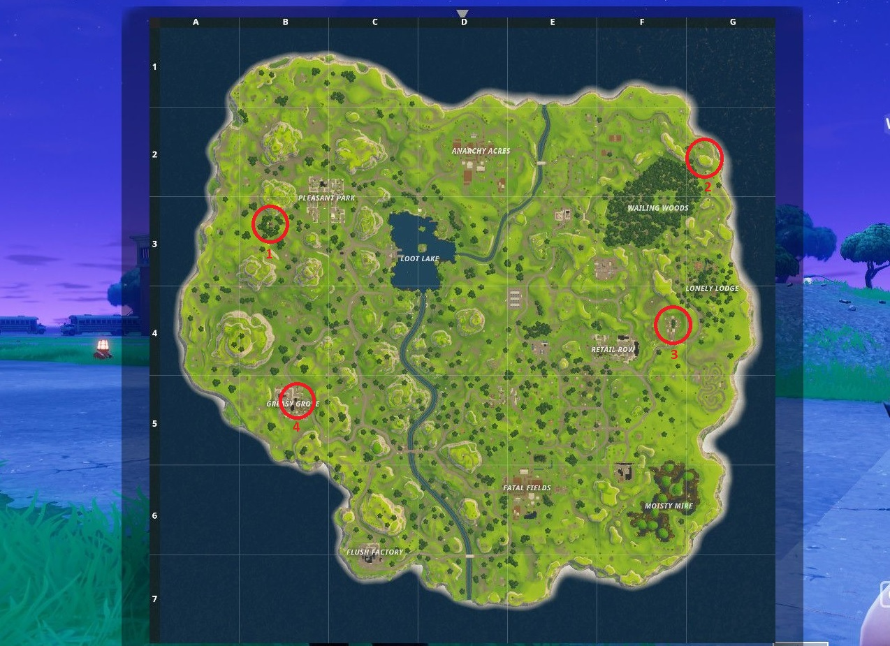Fortnite battle royale best places to land to find loot allgamers weve circled each of the best chest loot locations mentioned in this guide to gumiabroncs Gallery
