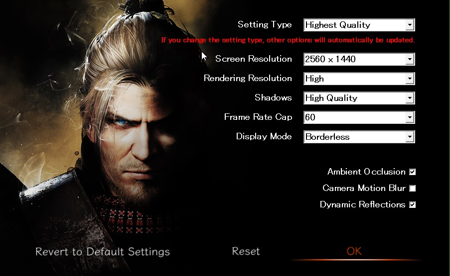 Nioh: Complete Edition - How to Change the Resolution