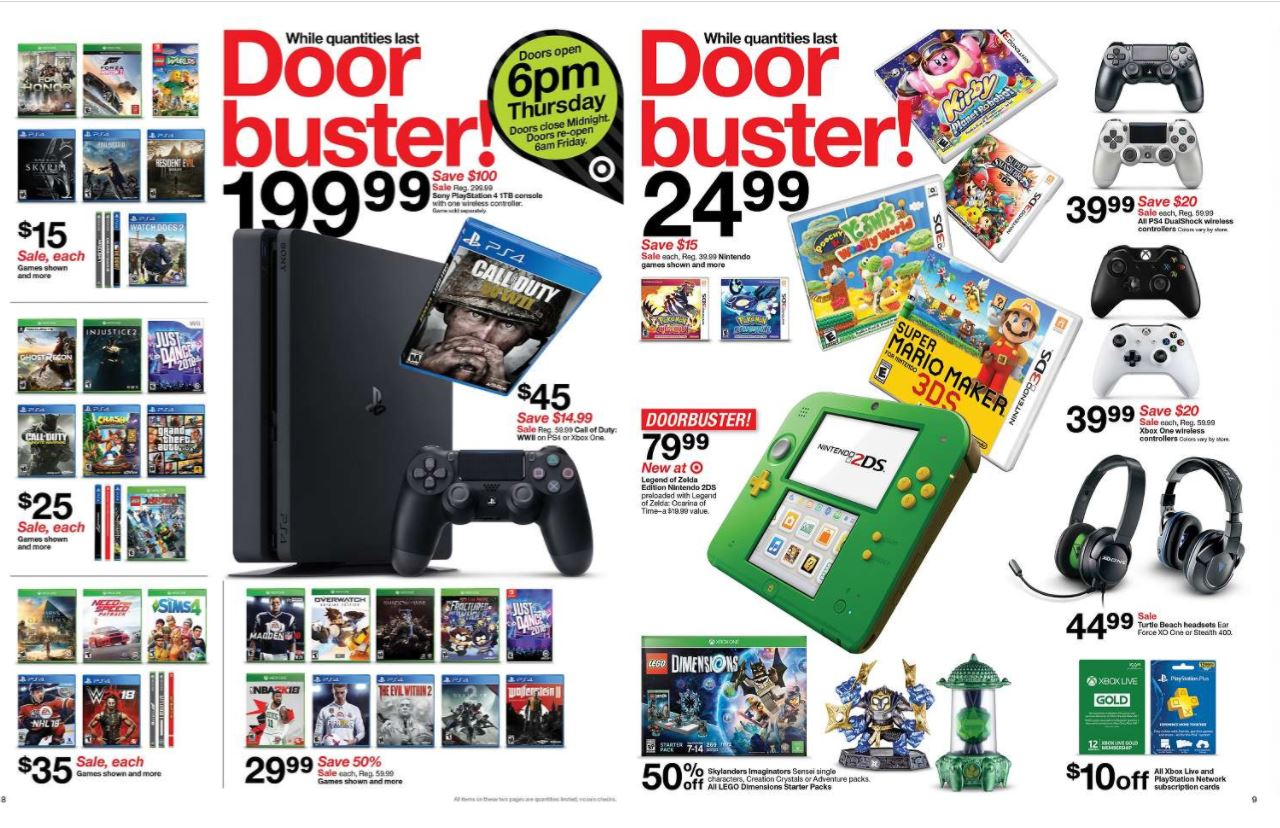 Target 2017 Black Friday Ad Includes Nintendo Switch Bundle Allgamers